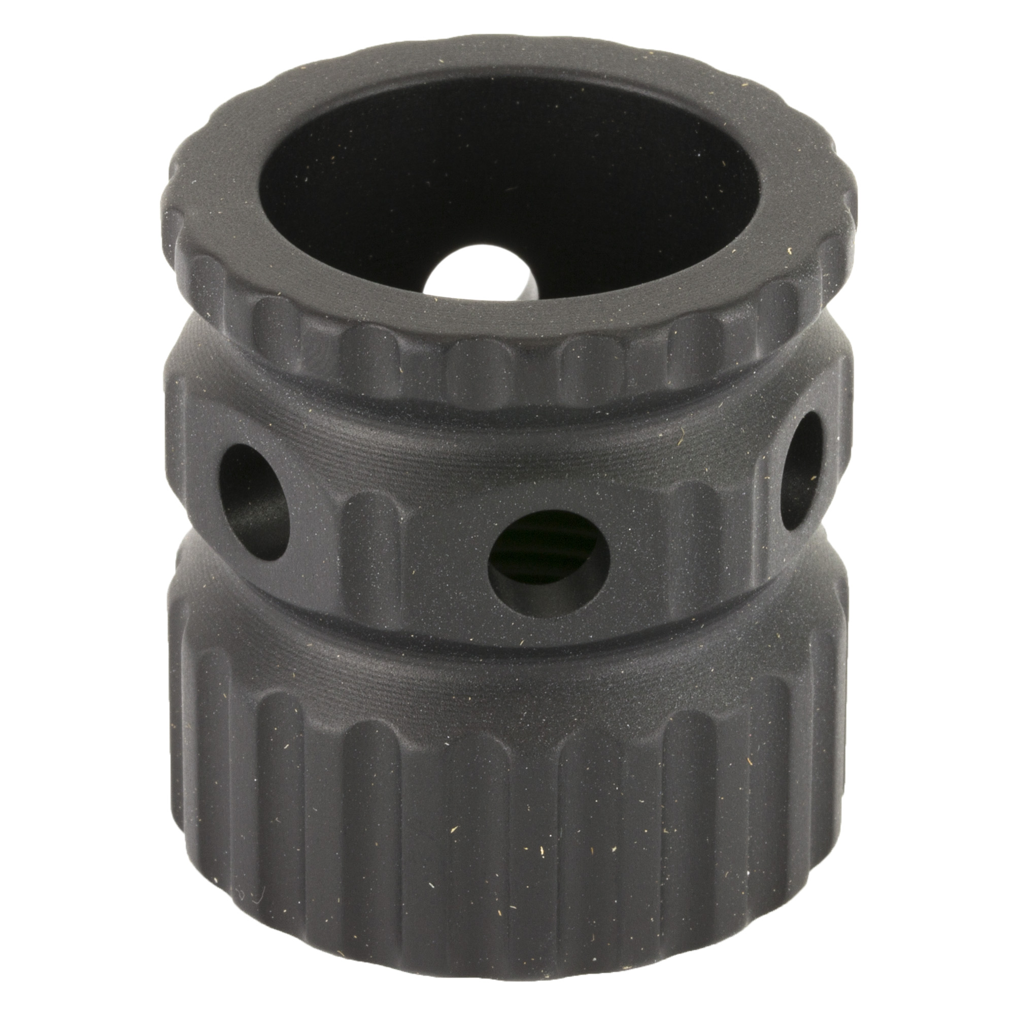 "A simple weight saving component for the 2A Arms AR15 BL rails"" the aluminum BL rail barrel nut is made from 7075-T6 Aluminum and then anodized black. This nut will save an additional .65oz over the titanium barrel nut."