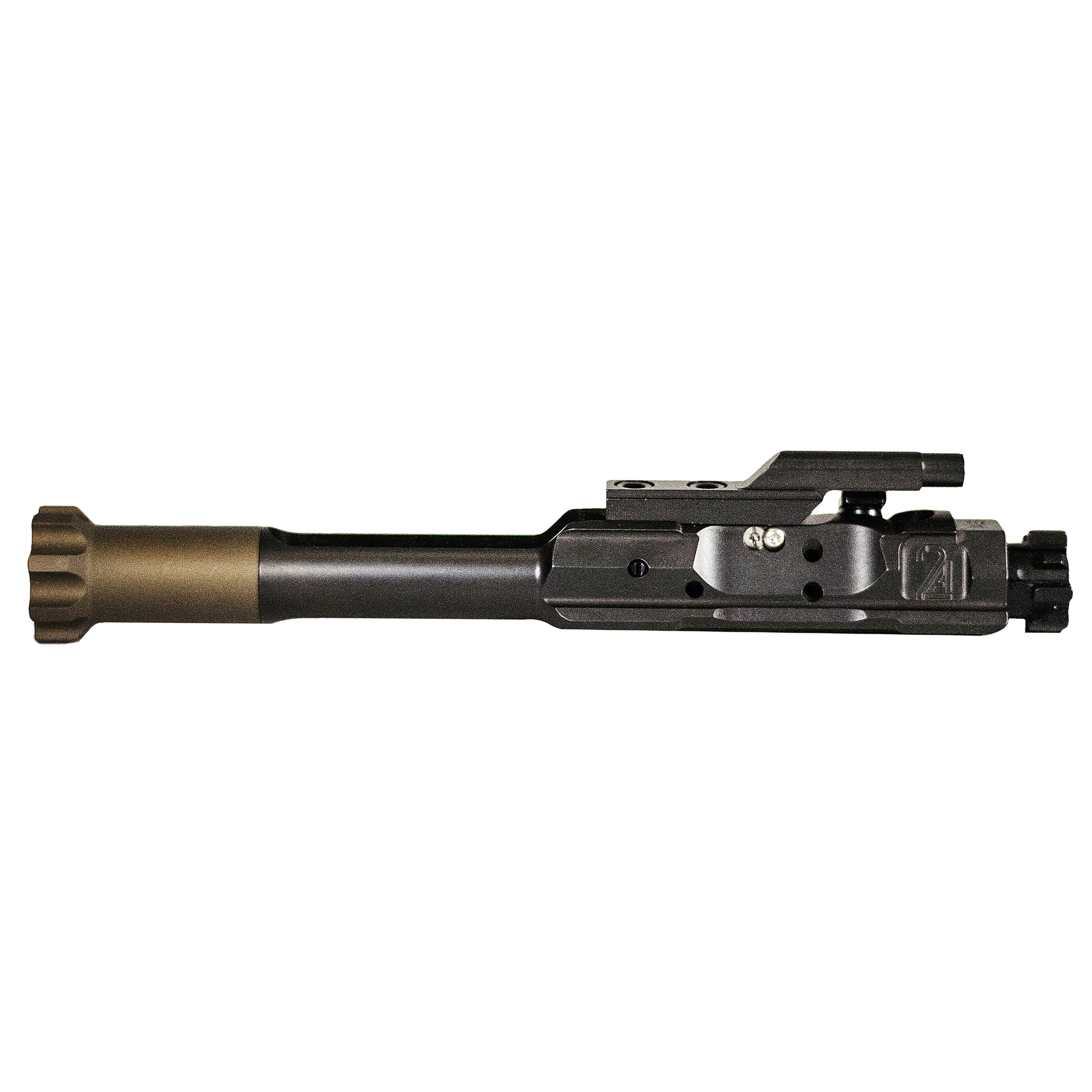 "The Titanium Regulated Bolt Carrier (RBC) is an ultra-lightweight carrier with a gas regulating gate built into the carrier itself. This provides a drop in"" extremely lightweight solution for those looking to tune their AR-15's gas system and minimize felt recoil. It eliminates the need for adjustable gas blocks and allows the firearm to be restored to a factory full weight system by simply swapping the full-mass carrier back into the firearm. The RBC has infinite adjustment from fully open"" to fully closed on the regulating gate. The RBC can be tuned to most combinations of buffers"" springs"" suppressors"" and barrel lengths. The RBC Is fully adjustable through the port door and does not require the firearm to be broken down for adjustment."