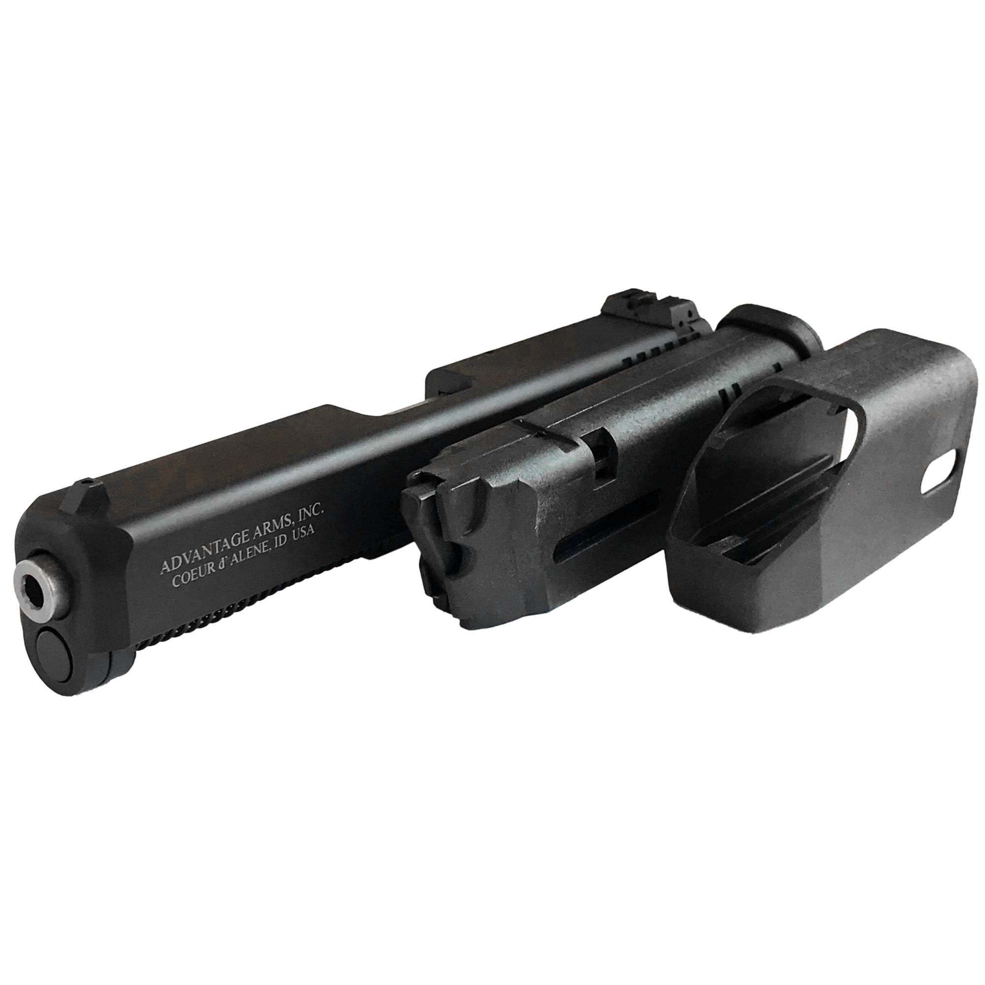 Convert your Glock into a .22 or with an Advantage Arms conversion kit. Advantage Arms Glock Conversion Kit is Advantage Arms most accurate conversion kit for Glock.