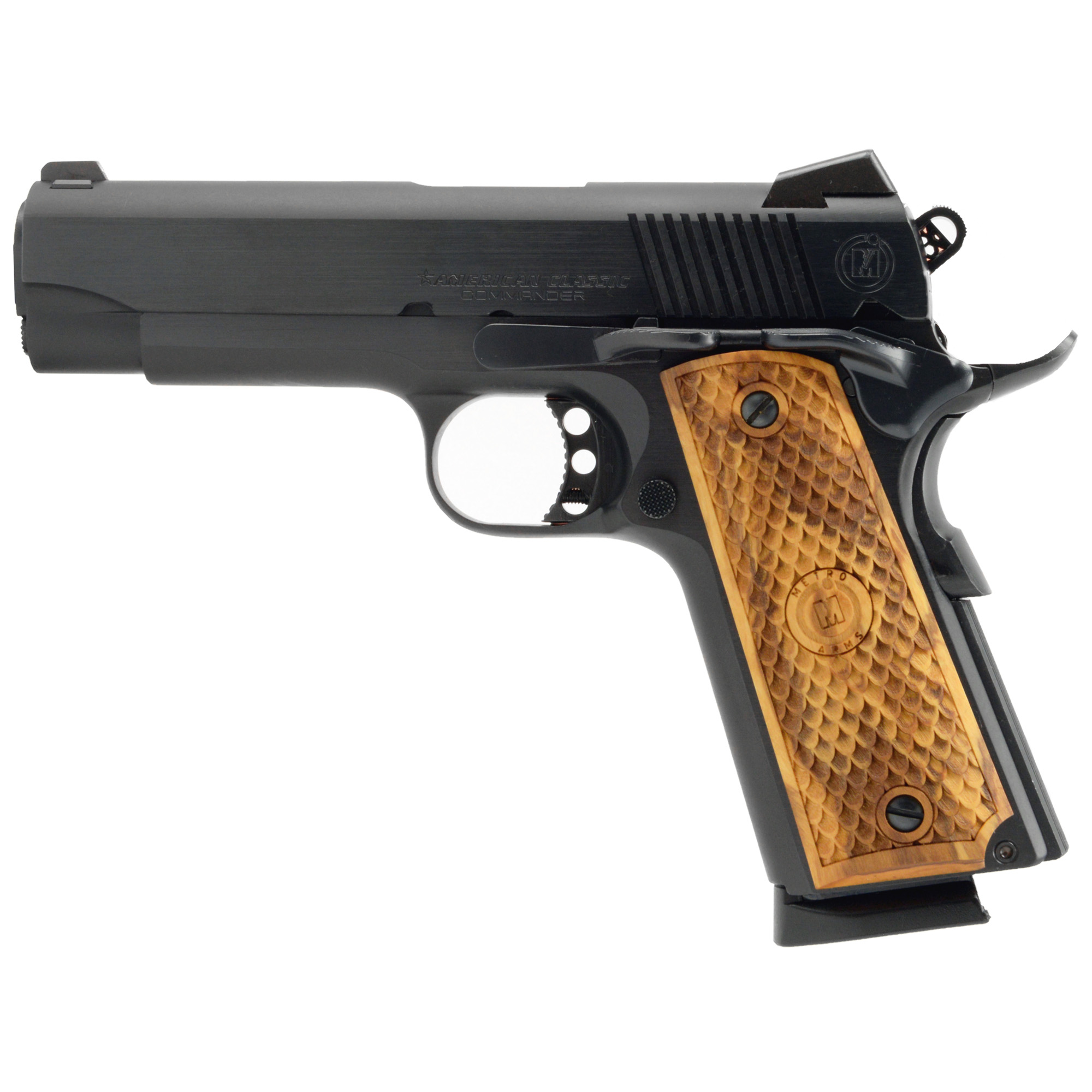 """It's tight"""" accurate"""" and has a nice trigger pull. American Classic offers a 1911 that speaks for itself with excellent fit and finish. Reach for an icon. Reach for an American Classic."""