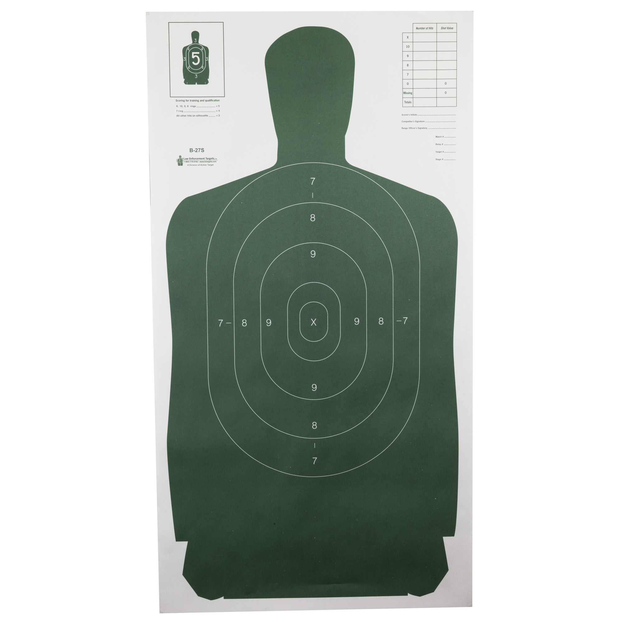 """Action Target provides unique solutions to the commercial range owner"""" as well as to law enforcement and military organizations. Whether you're sighting in a rifle"""" conducting law enforcement training"""" or setting up for a 3-gun competition"""" Action Target has a target that meets your needs."""