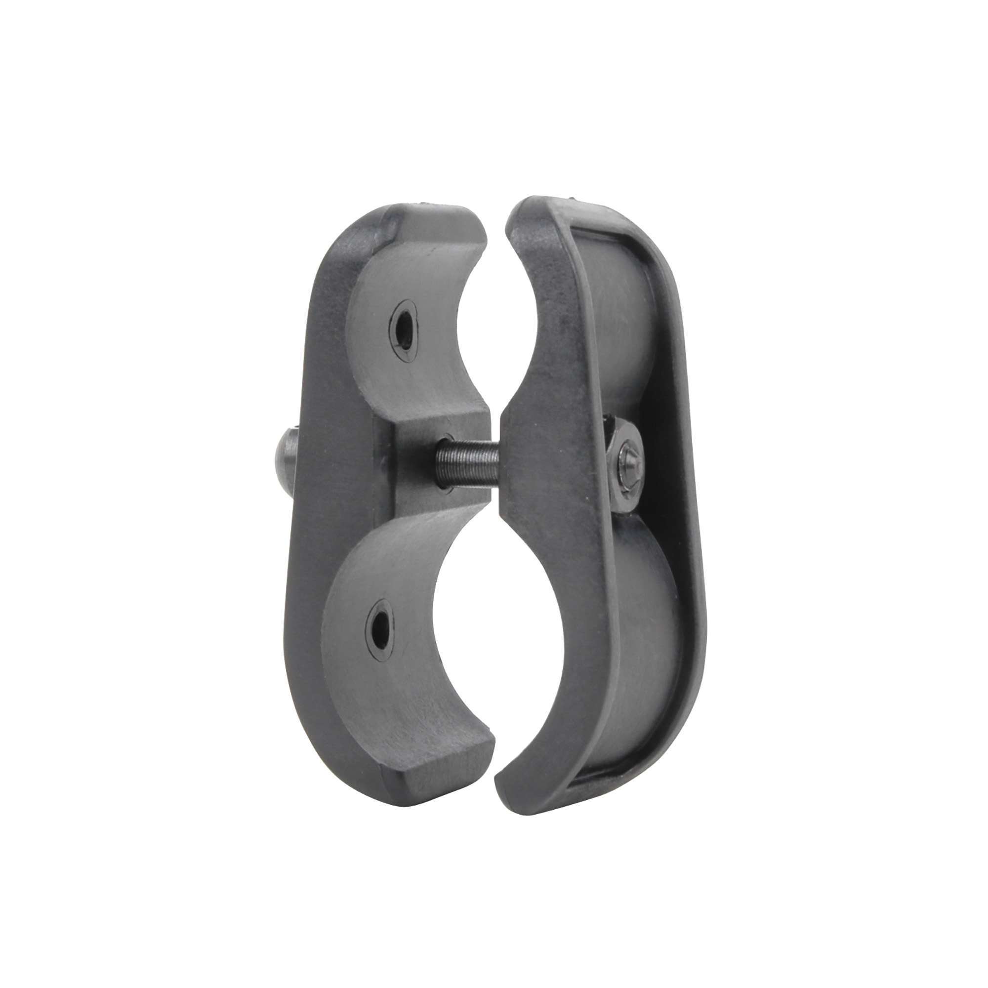 """The Advanced Technology Int. Shotgun Mag Clamp or 1"""" Light Mount and Sling Swivel Stud fits all 12 gauge shotguns. It strengthens the connection of the Mag extension to the barrel and may also be used to mount a 1"""" diameter light or laser to the barrel. Included is a sling swivel stud that is reversible for right or left handed shooters."""