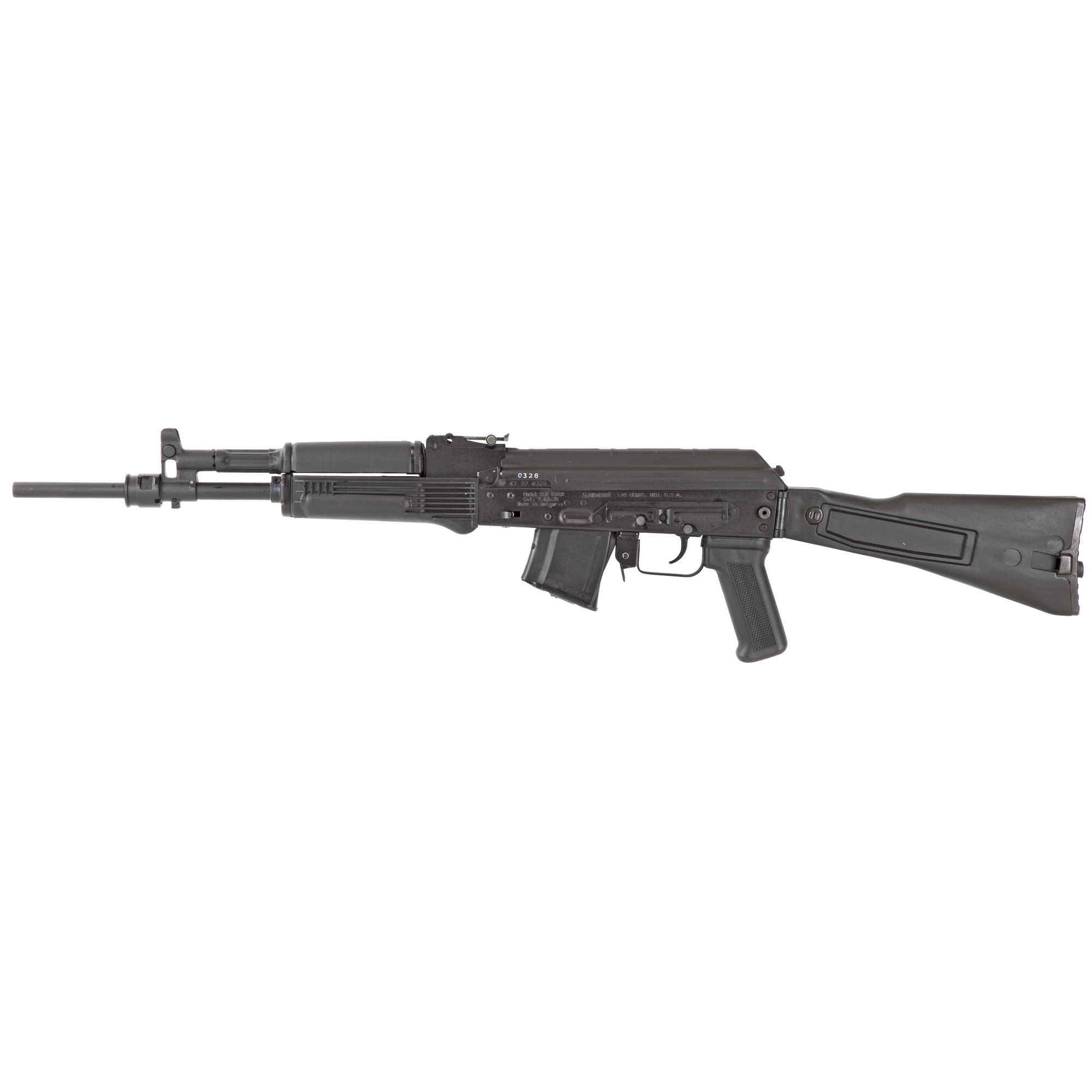 """SLR-107 7.62x39 caliber rifles are top notch"""" Bulgarian made"""" stamped receiver"""" semi-automatic modern sporting rifles remanufactured by Arsenal"""" Inc. in Las Vegas"""" Nevada."""