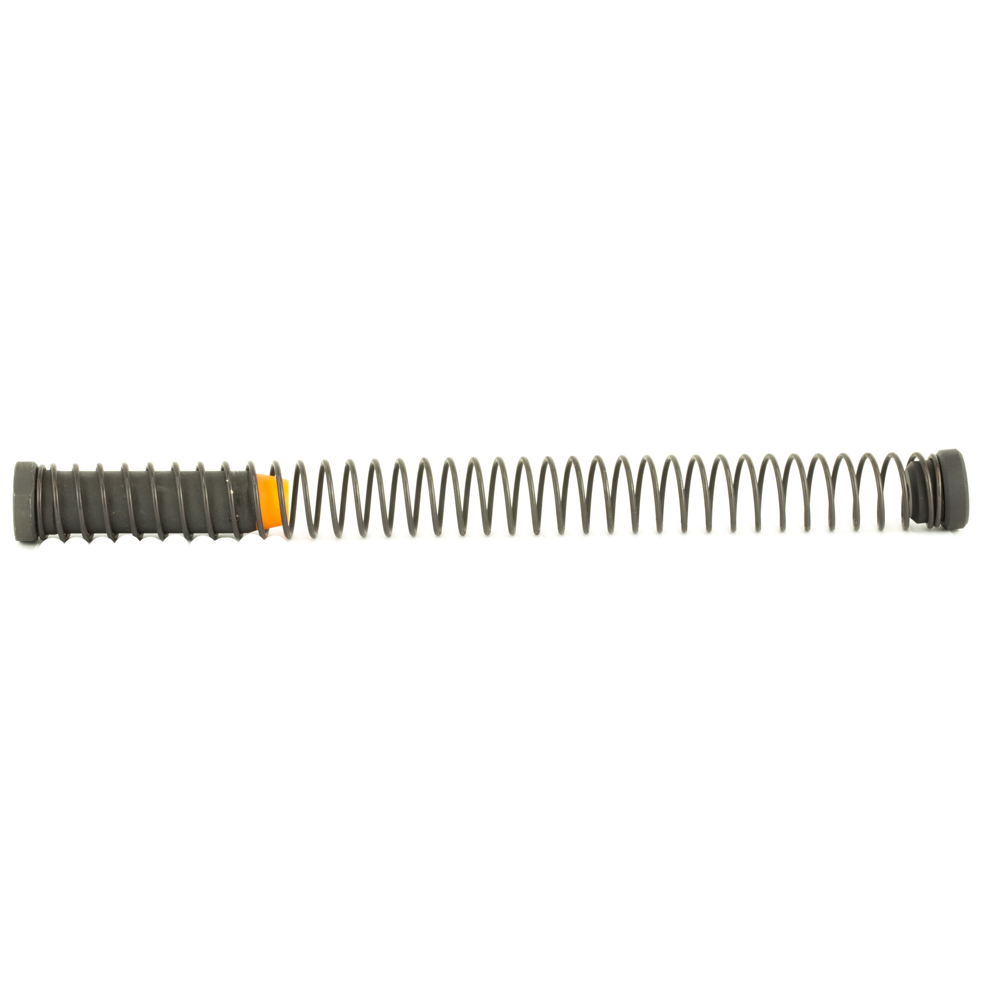 """The Angstadt Arms 9mm buffer assembly kit is compatible with both GLOCK(R) and Colt(R) style 9mm AR-15's. Weighing 5.4oz"""" this buffer is tough enough to withstand the abuse of blowback 9mm firearms and features a dedicated buffer spacer to limit overtravel of your 9mm bolt carrier. Includes 9mm buffer"""" spacer and carbine buffer spring."""