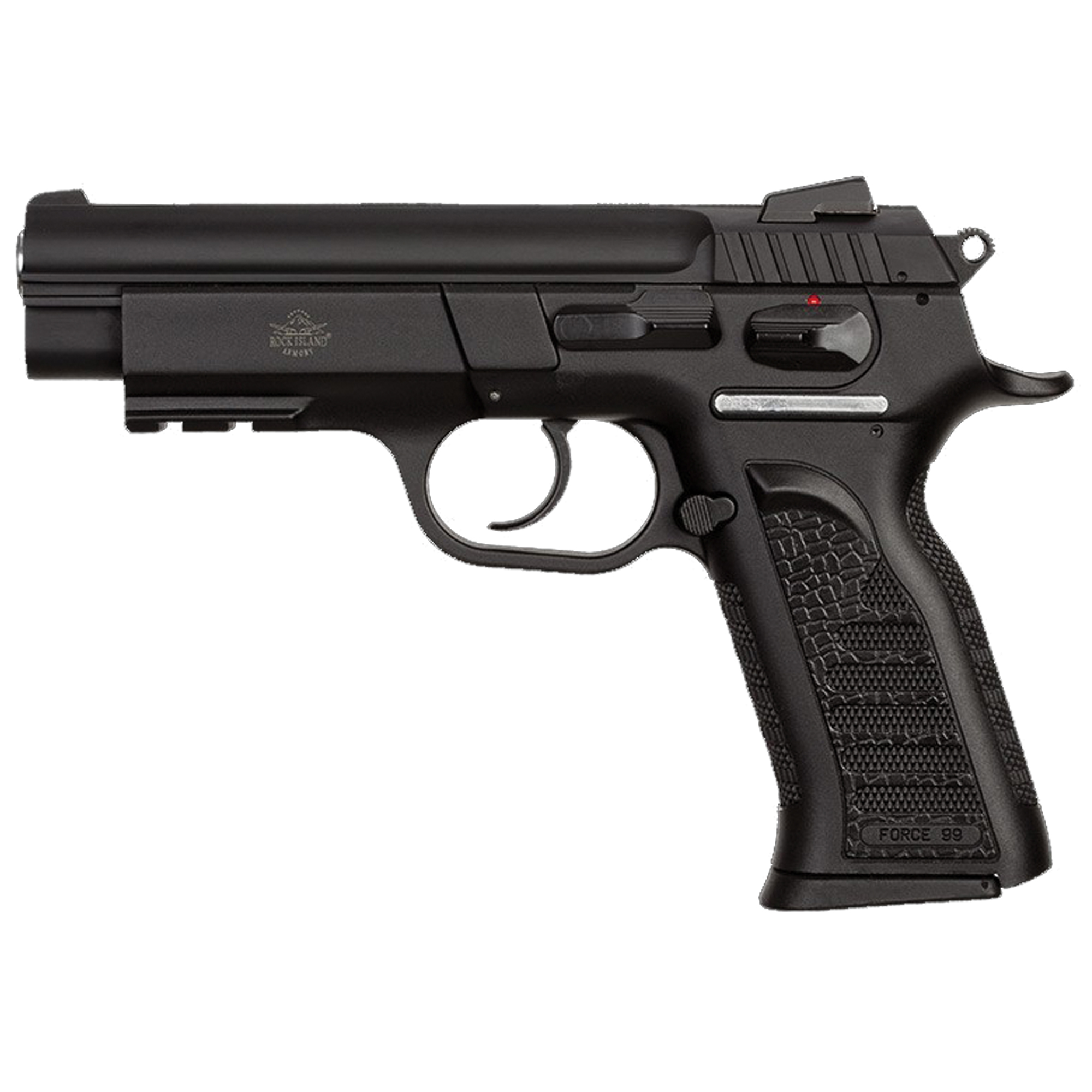 """The MAP/MAPP series provides a light and capable double action service grade pistol for concealed carry and self defense. Offered in both full- and mid-size options with either polymer or steel frames"""" each includes an accessory light rail to add to its usability."""