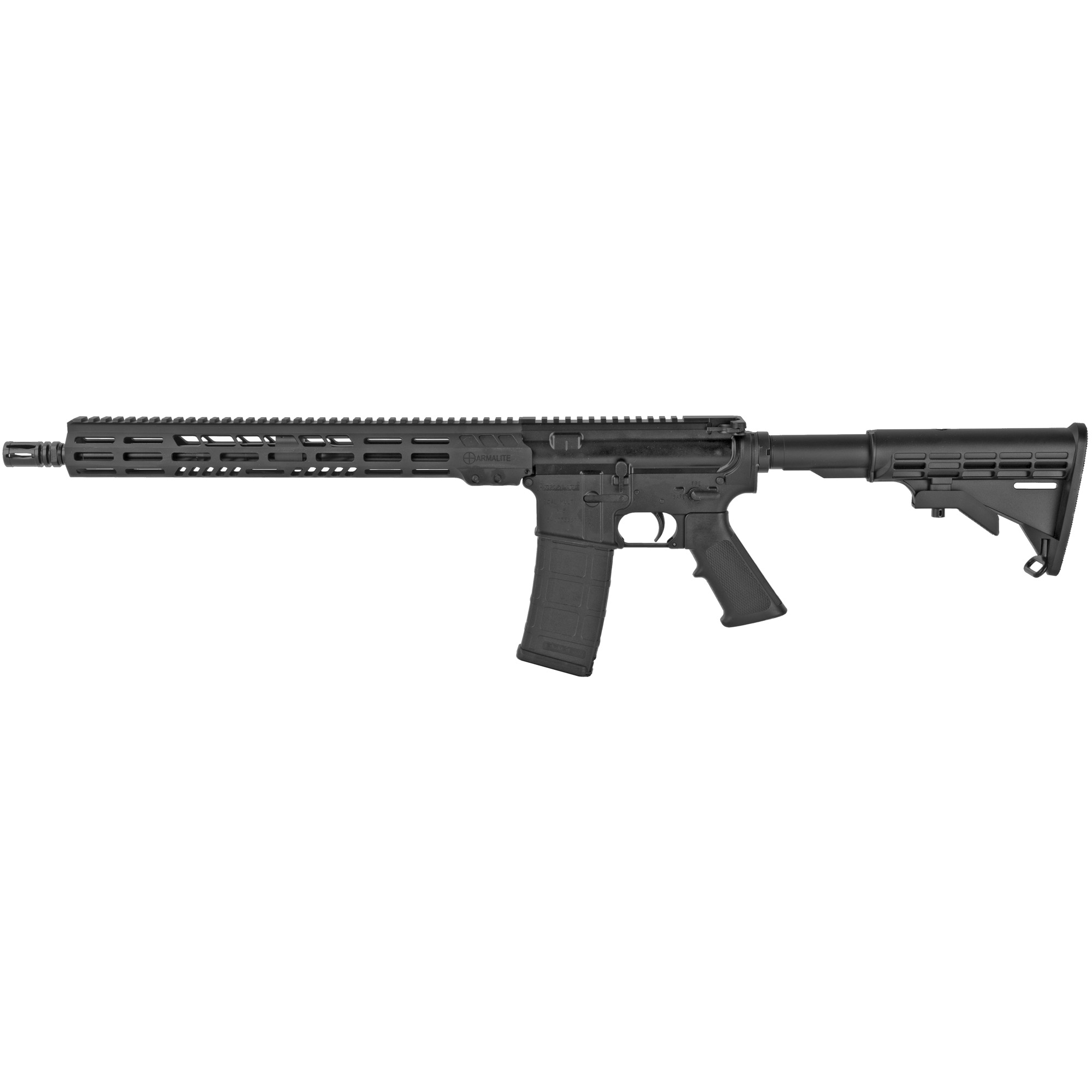 """The M-15(TM) Light Tactical Carbine (LTC) provides shooters with a versatile"""" hard-hitting modern sporting rifle in a streamlined and affordable package. With features such as Armalite's own free-floating tactical Key-Mod handguard and low-profile gas block"""" the Light Tactical Carbine carries a modern profile in a light and scalable package."""