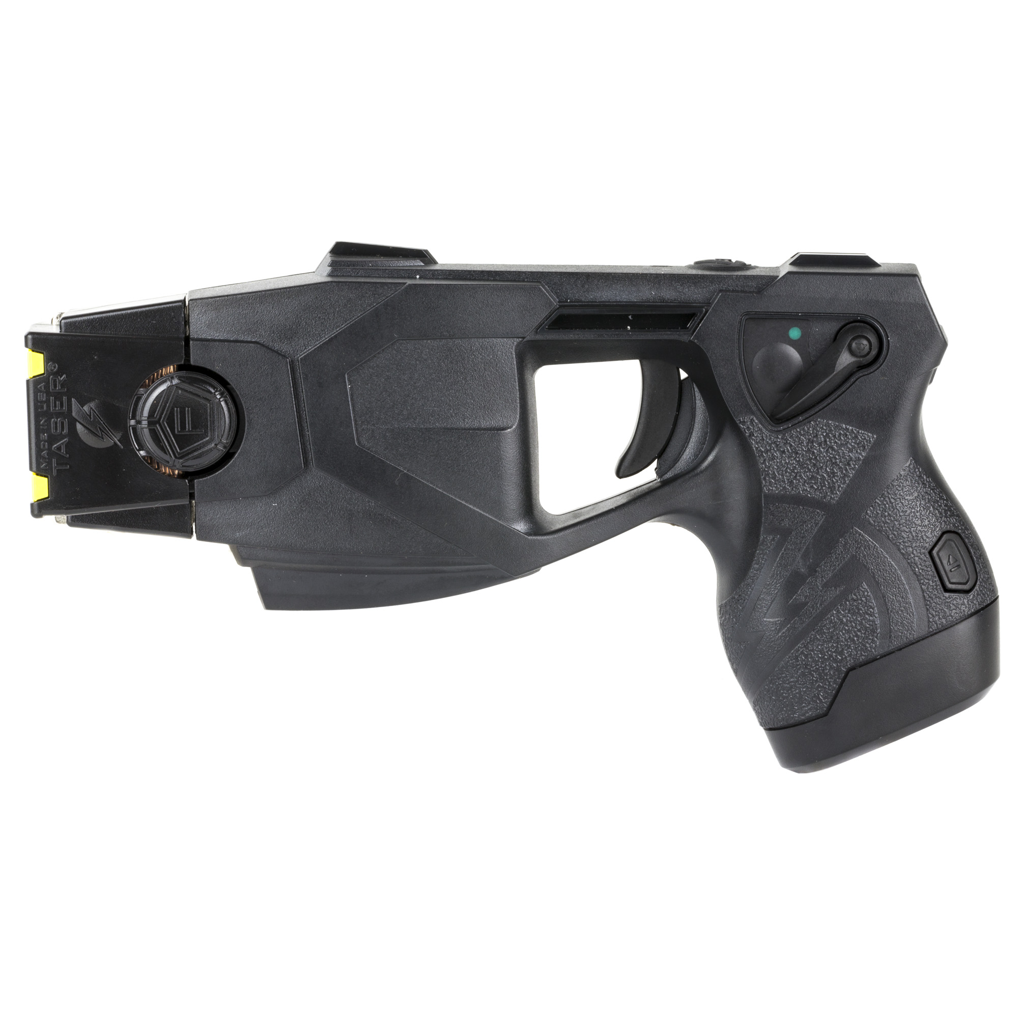 """The X26P is a strong addition to any civilian self-protection plan. It is the same innovative tool used and trusted by law enforcement agencies around the world. This means it can be effective against even the most aggressive assailants"""" or persons under the influence of drugs and/or alcohol. Equipped with a durable holster and rugged carrying case"""" the X26P is suited for both home-defense and professionals such as security personnel or delivery drivers."""