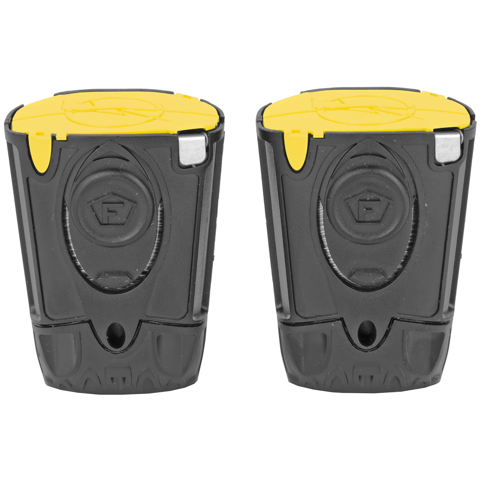 """Keep extra live cartridges stocked in case of depletion so you are never without protection. This two pack of cartridges is compatible with TASER Bolt"""" Pulse+"""" or Pulse devices."""