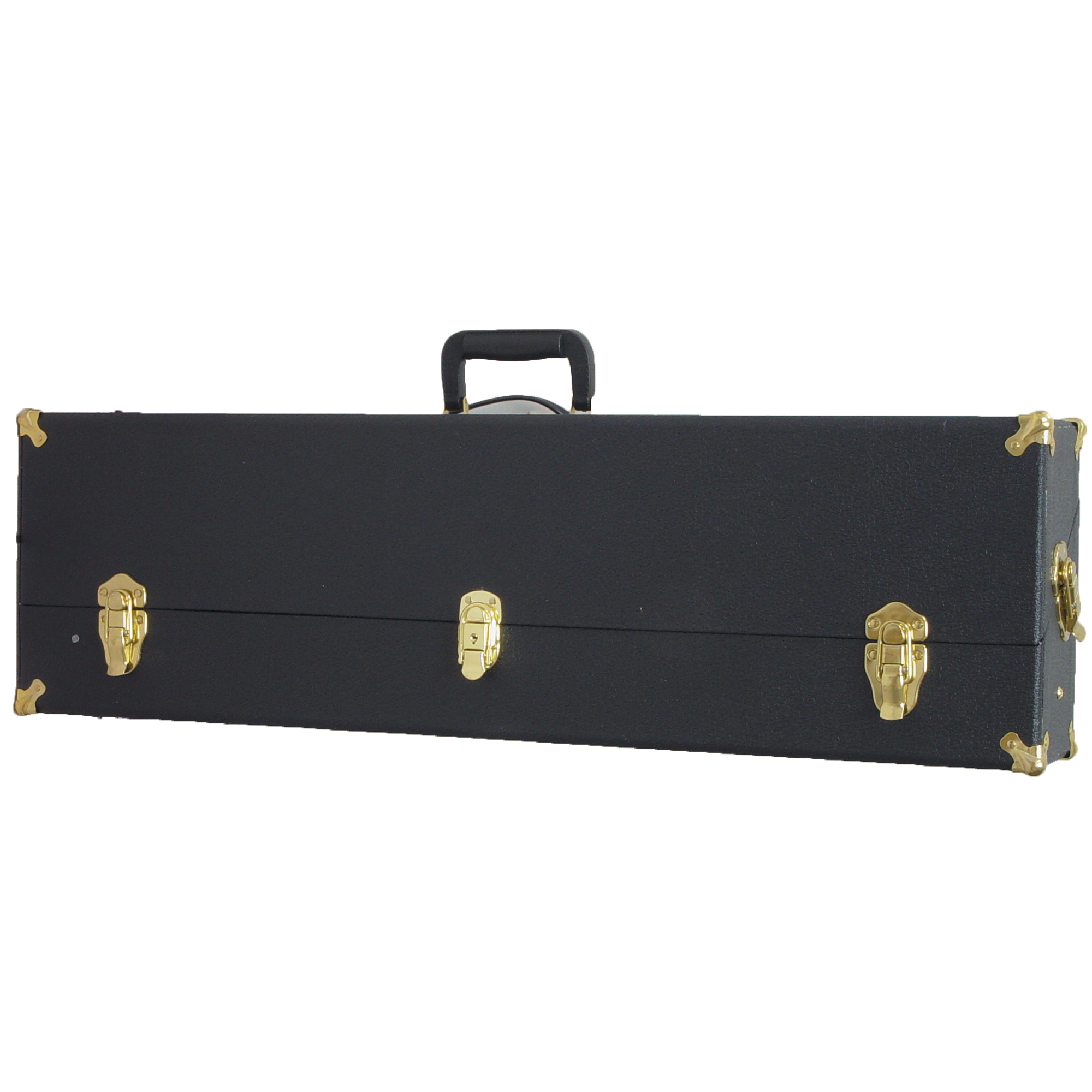 This top of the line Auto Ordnance gun case is a modified replica of the famous FBI Hard Case. It is fully lined with a fine velour-type material and the custom tailored compartments will accommodate Thompson long guns (with detached buttstock).