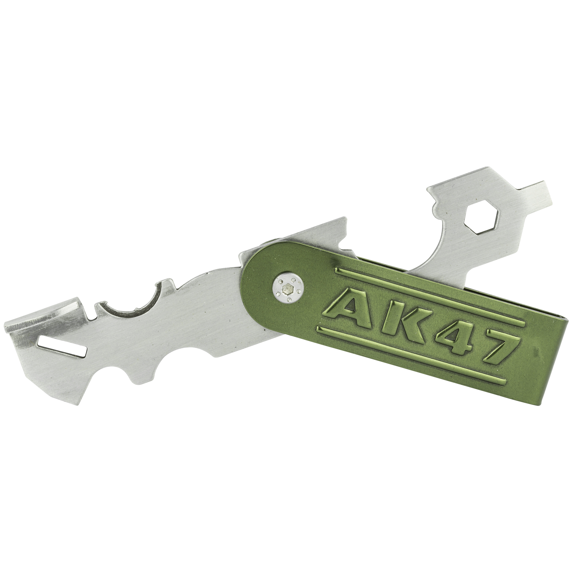 "The AK47 Scraper is a precision tool dedicated to the removal of baked-on carbon buildup from the gas piston and bolt of your favorite AK. It includes wrenches and multi-surface scrapers"" and is easier and faster than both solvents and brushes."