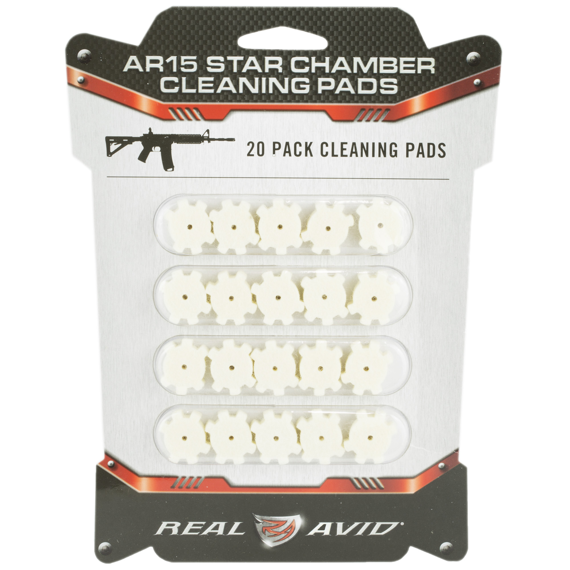 There's no easy way to scrape carbon out of the star chamber of an AR15 unless you're a surgeon. That's why you use a star chamber brush to loosen the carbon then remove it with these star chamber cleaning pads. Done deal. Now get back to shooting. 20 wool chamber pads per package.