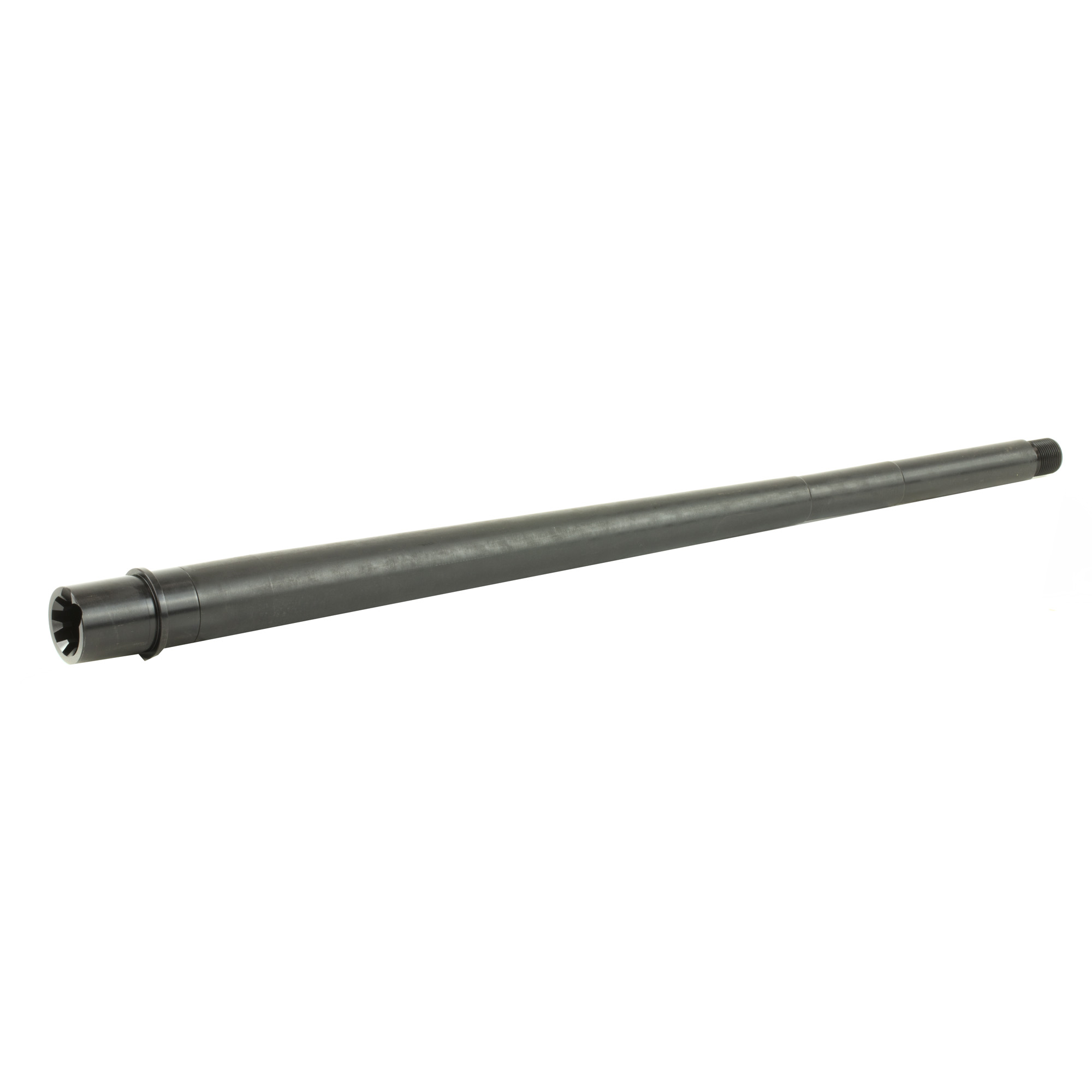 This .308 chambered (DPMS style) 18 inch Heavy Profile Modern Series Barrel is machined from 4150 Chrome Moly Vanadium steel with a QPQ Corrosion Resistant Finish and QPQ coated M4 feed ramp extension.
