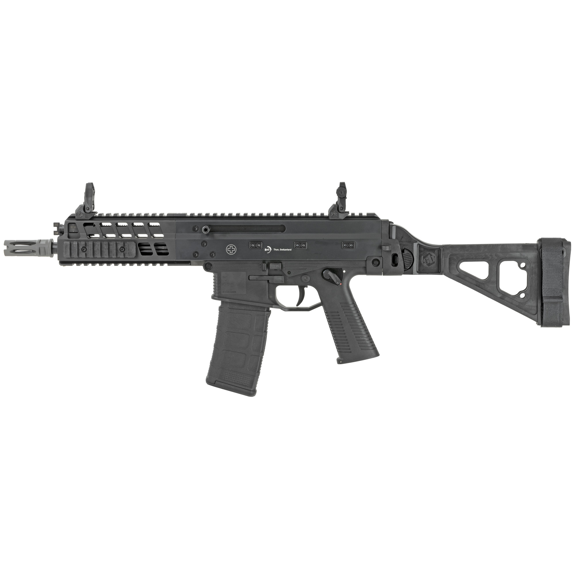 State of the art materials and manufacturing methods paired with Swiss Precision turn the APC223 into the perfect gun for defense as well as for plinking.