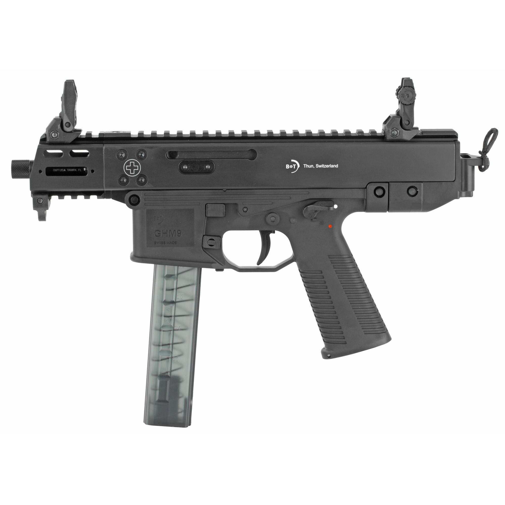 State of the art materials and manufacturing methods paired with Swiss Precision turn the GHM9 into the perfect gun for defense as well as for plinking.