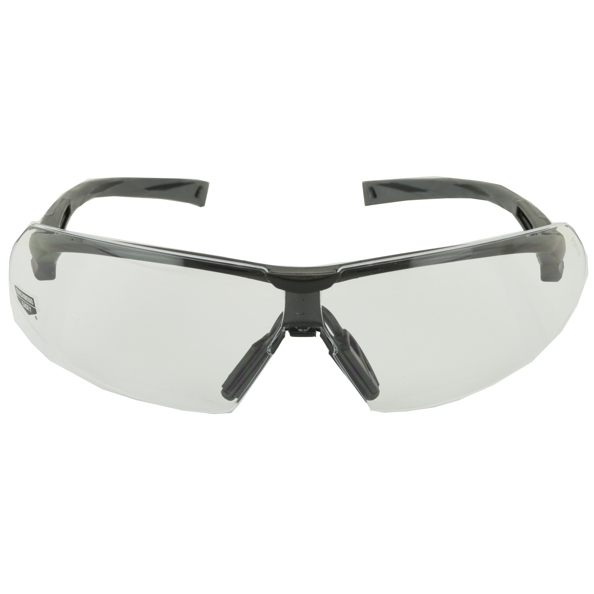 The SKYTE Clear Lens Eye Protection exceed high velocity impact standards and feature a free floating lens design. These shooting glasses offer high-end performance at a price all shooters can afford. The clear lens is a great choice for all around shooting applications.