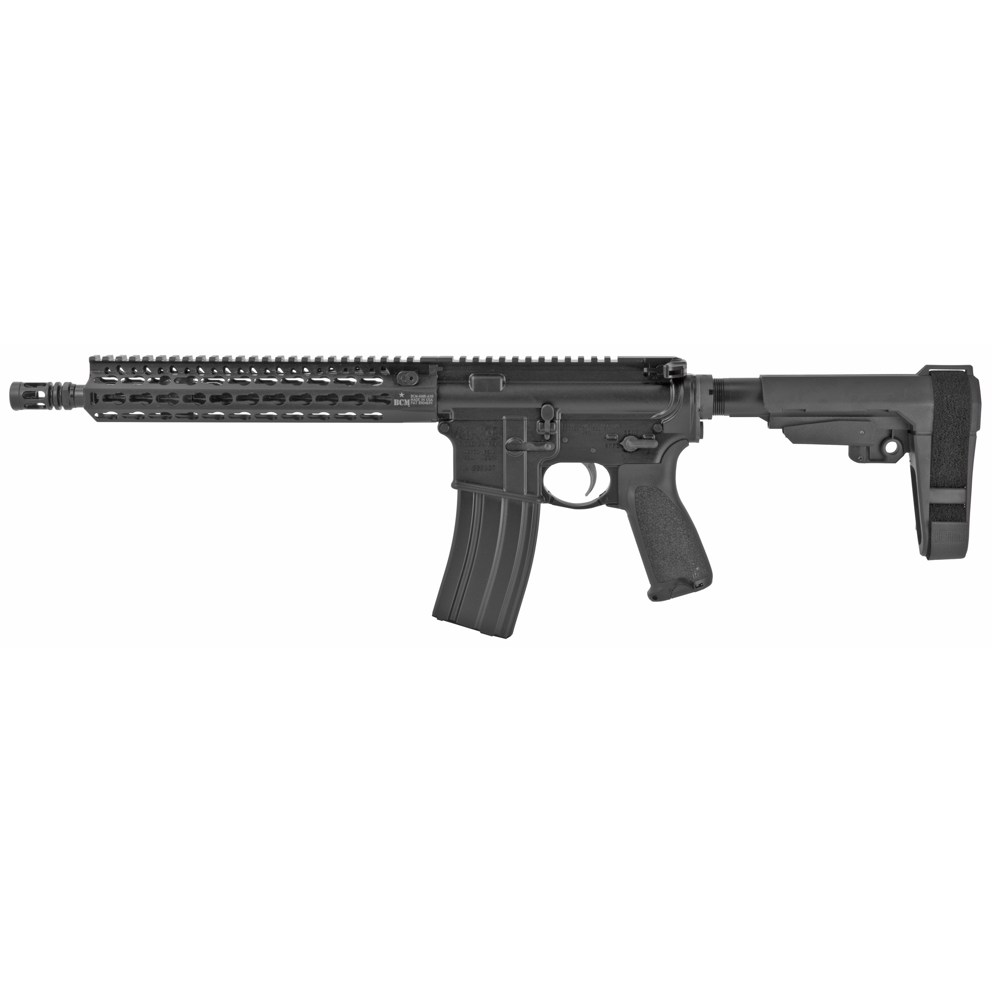 Bravo Company Recce 11 KMR-A Pistol 11.5″ 223 Remington 5.56 NATO 30Rd – Black