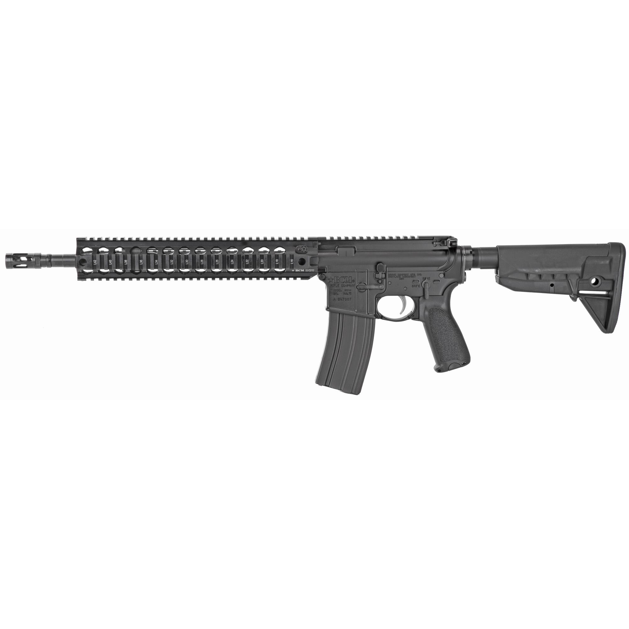 Bravo Company Recce-14 Model 0 AR 14.5″ Pinned (16″ Oal) 0.223 Remington 5.56 NATO 30Rd – Black