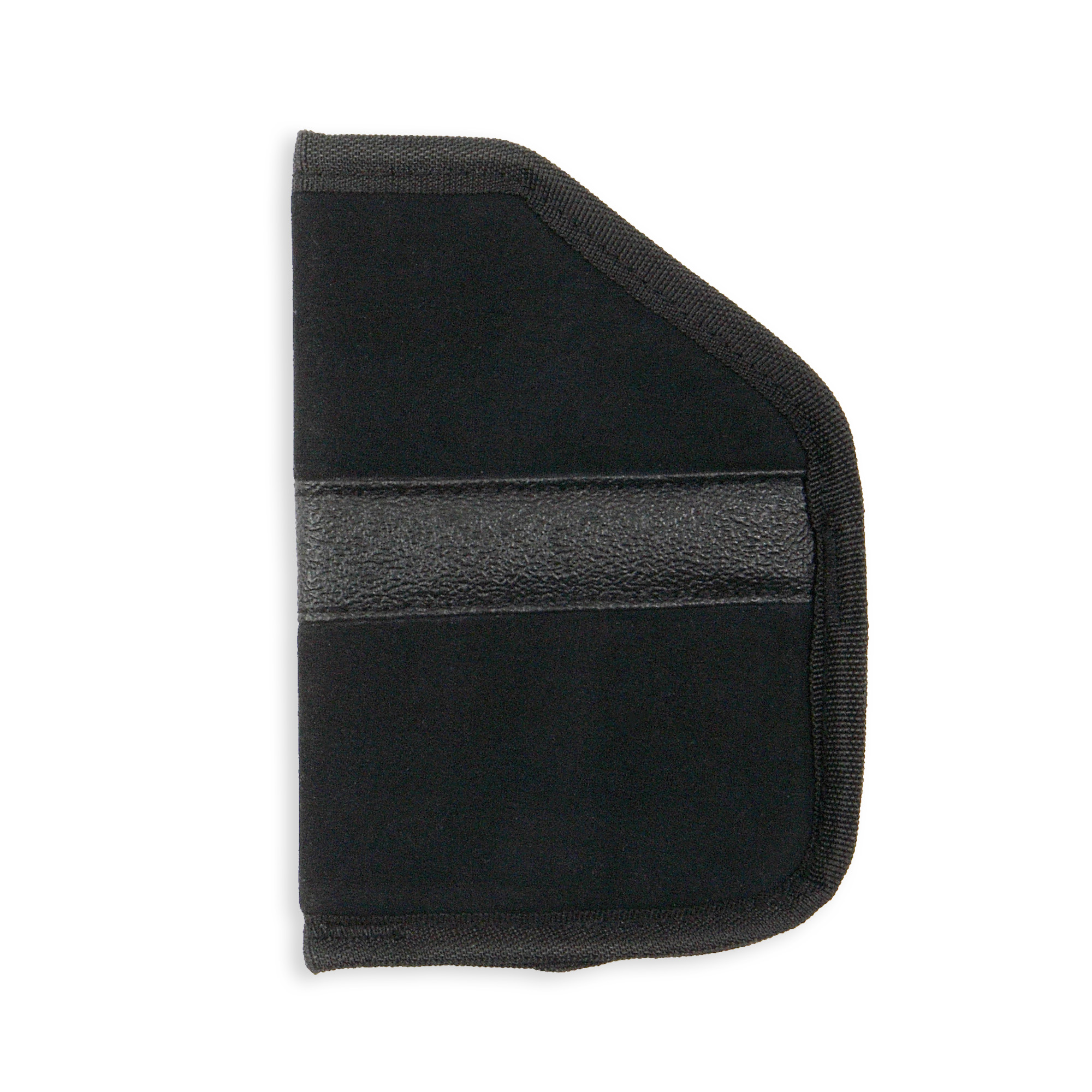 Fused Padding Helps Conceal The Pistol Outline While Protecting The User's Leg From The Sharp Edges Of The Pistol. Non-Slip Band Helps Keep The Holster In Place In The Pocket When Pistol Is Drawn. Size large.