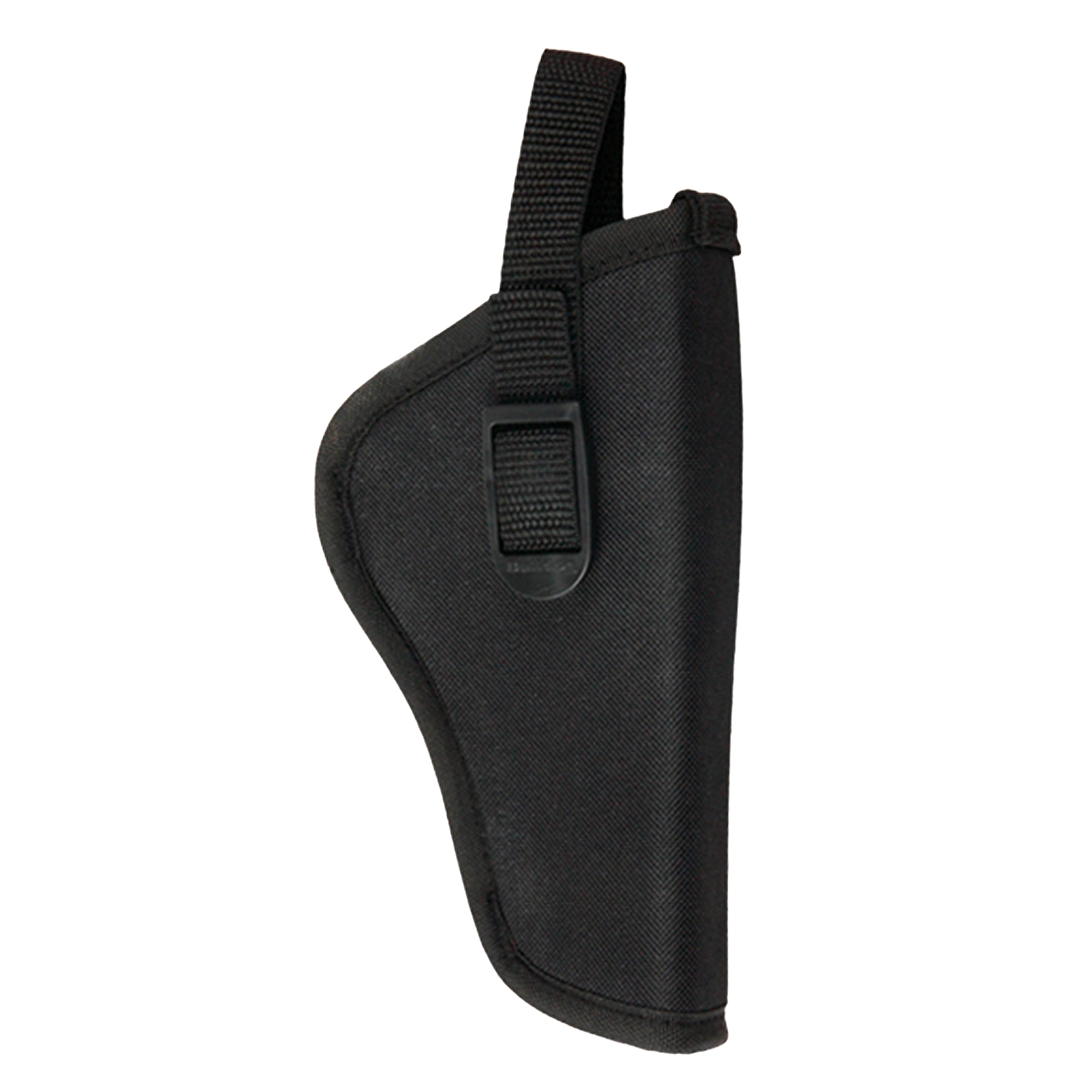 """Durable Nylon Water-Resistant Outer Shell & Top Grade Padding Provides The Ultimate Fit"""" Comfort & Protection For You & Your Pistol. Features a deluxe molded thumb break snap and belt loop."""