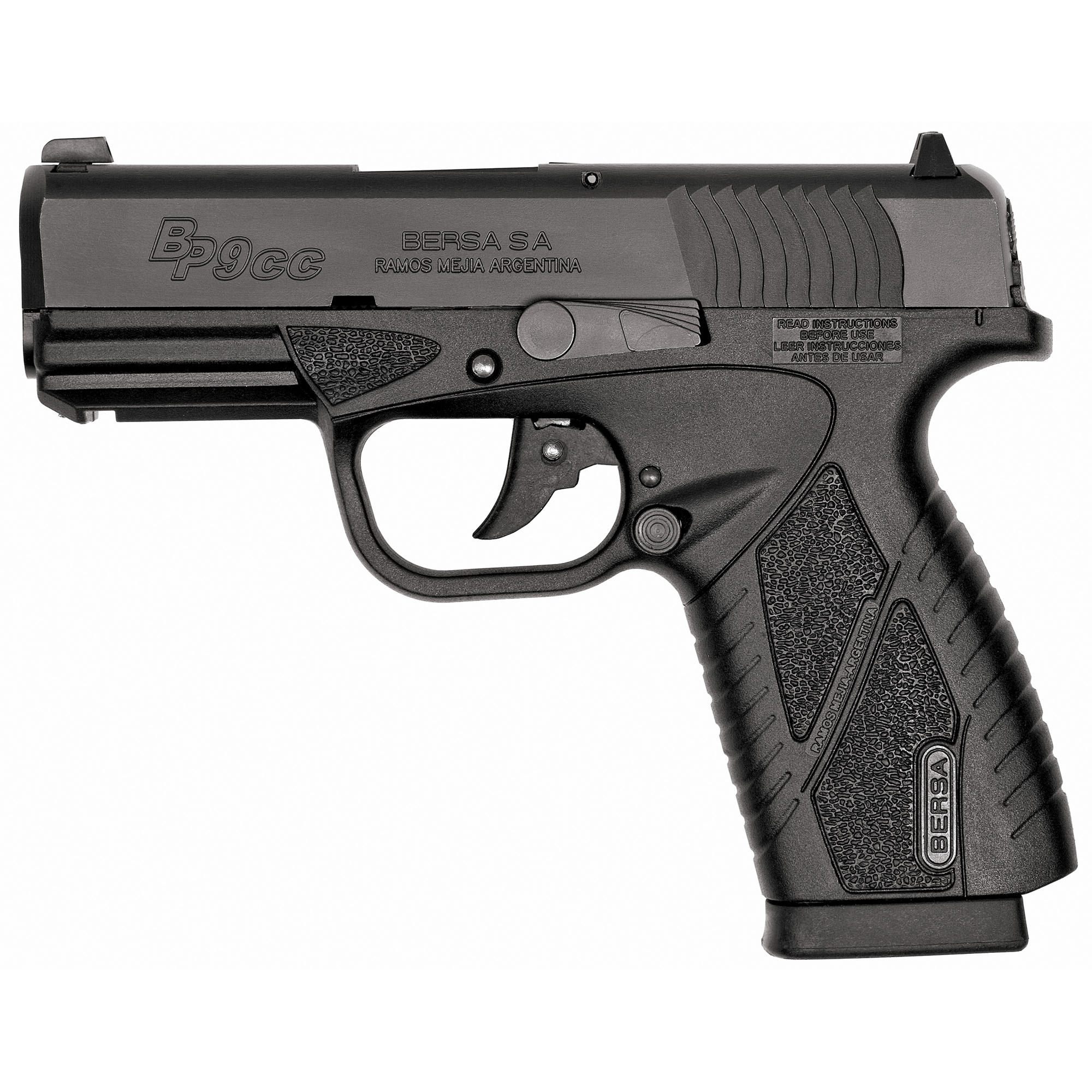 "The Concealed Carry Series provides accuracy and fire power in a lightweight"" compact"" ultra thin handgun. The BPCC delivers the quality"" reliability and durability you've come to expect from BERSA and underscores their commitment to innovation and cutting edge technology."