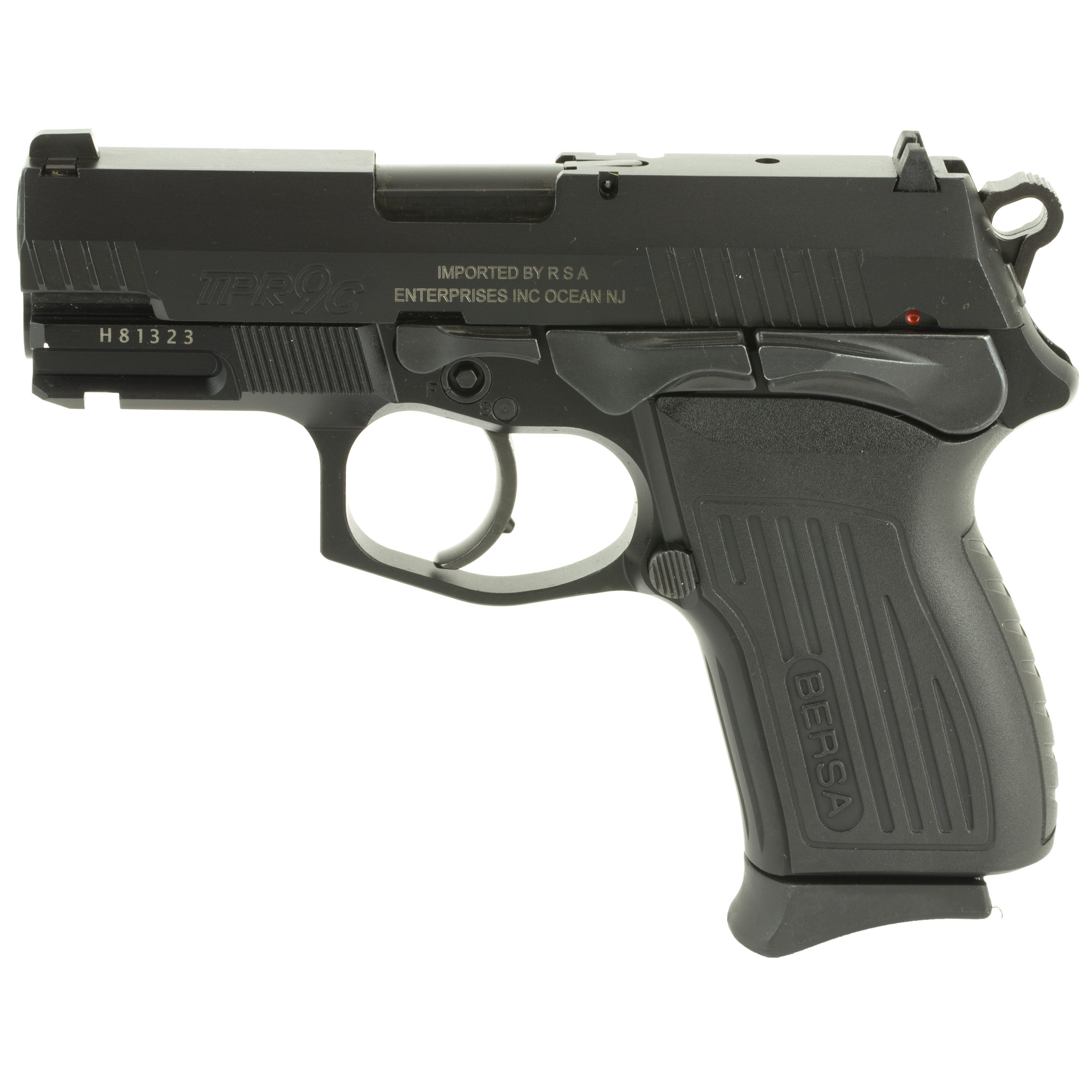 "Designed for law enforcement"" the TPR Series delivers the same rugged durability"" accuracy"" and reliability as the Bersa Thunder line. It's one of the most impressive handguns you can buy and one of the most comfortable and fun to shoot."