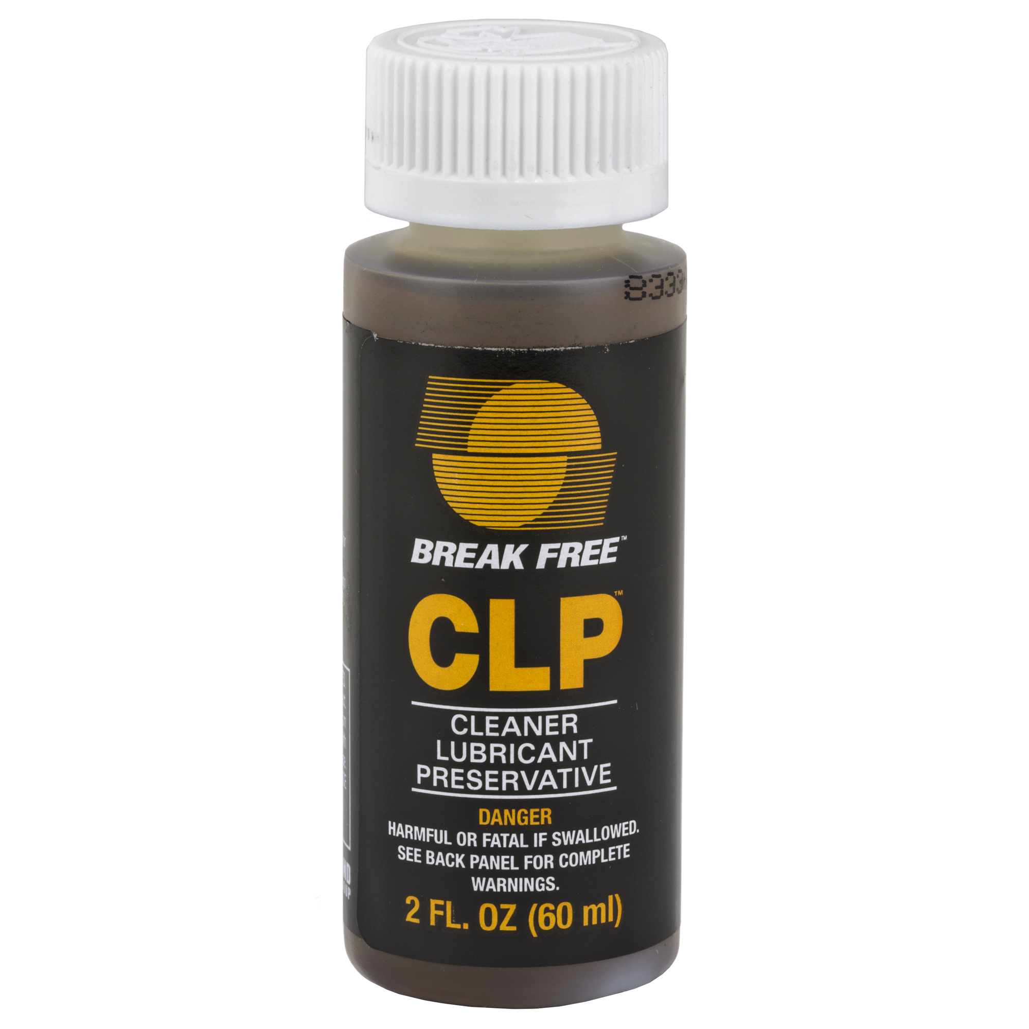 """Break Free CLP is the gold standard solution requiring only one step to clean"""" lubricate and protect your firearm. More than a superior lubricant"""" CLP cleans firing residue and other contaminates from the bore"""" moving parts"""" and exterior of firearms while simultaneously reducing friction and protecting from corrosion. The CLP formula does not deteriorate under high temperatures or extreme pressure. Manufactured from the highest-quality polymerized synthetic oils"""" plus special"""" friction-reducing"""" anti-wear additives"""" Break Free CLP is the ideal all-in-one formula to service and preserve your firearm."""