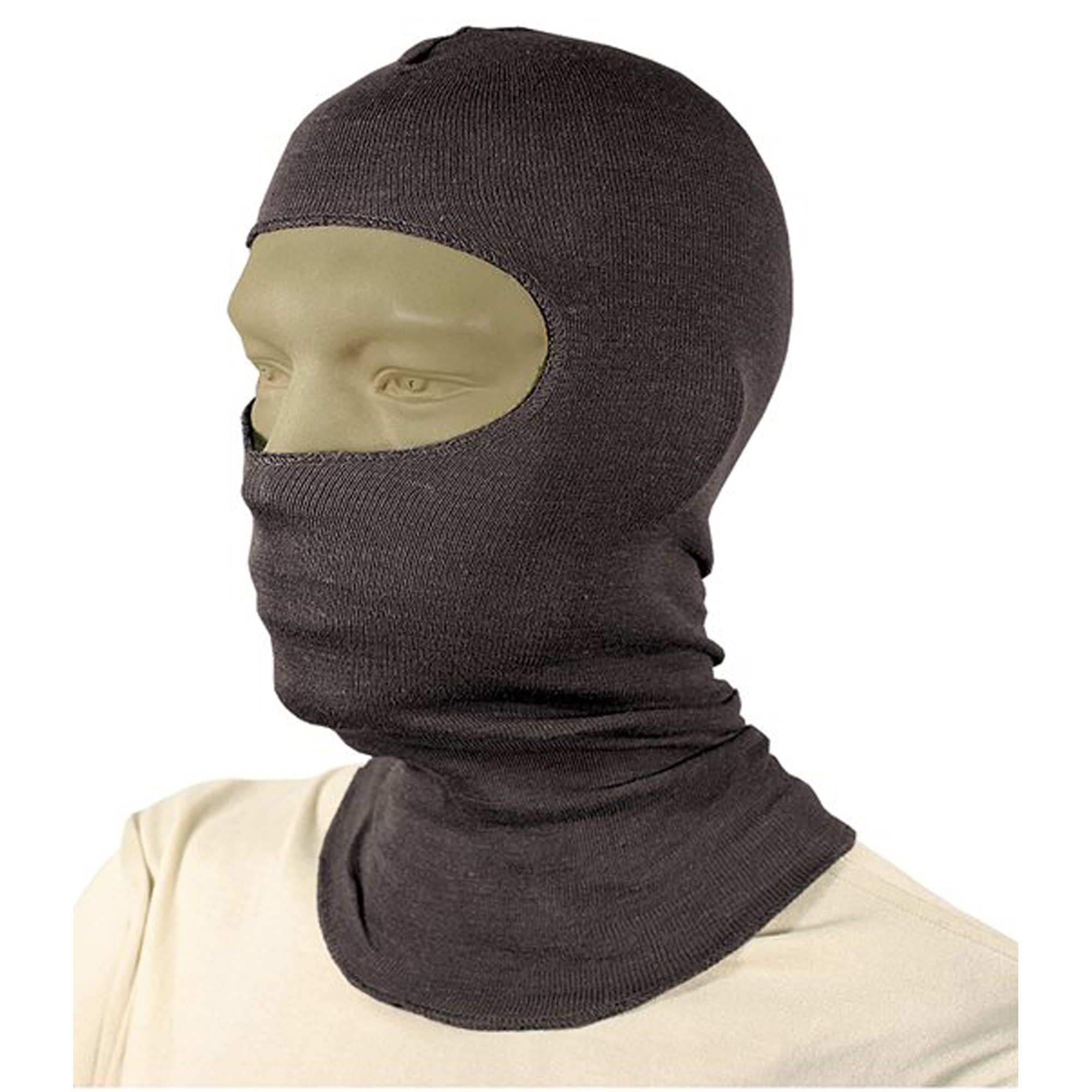 A lighter balaclava option that still retains flash/flame protection for your head and neck with NOMEX.