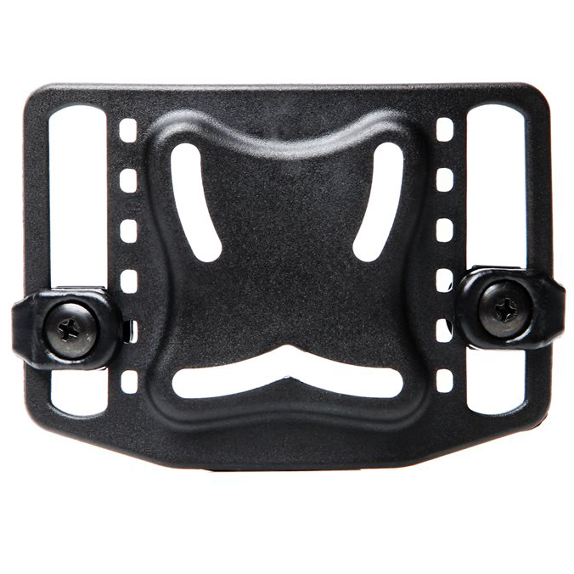 """Designed to fit any BLACKHAWK(R) injection-molded concealment holster"""" this Belt Loop Platform comes with mounting screws."""