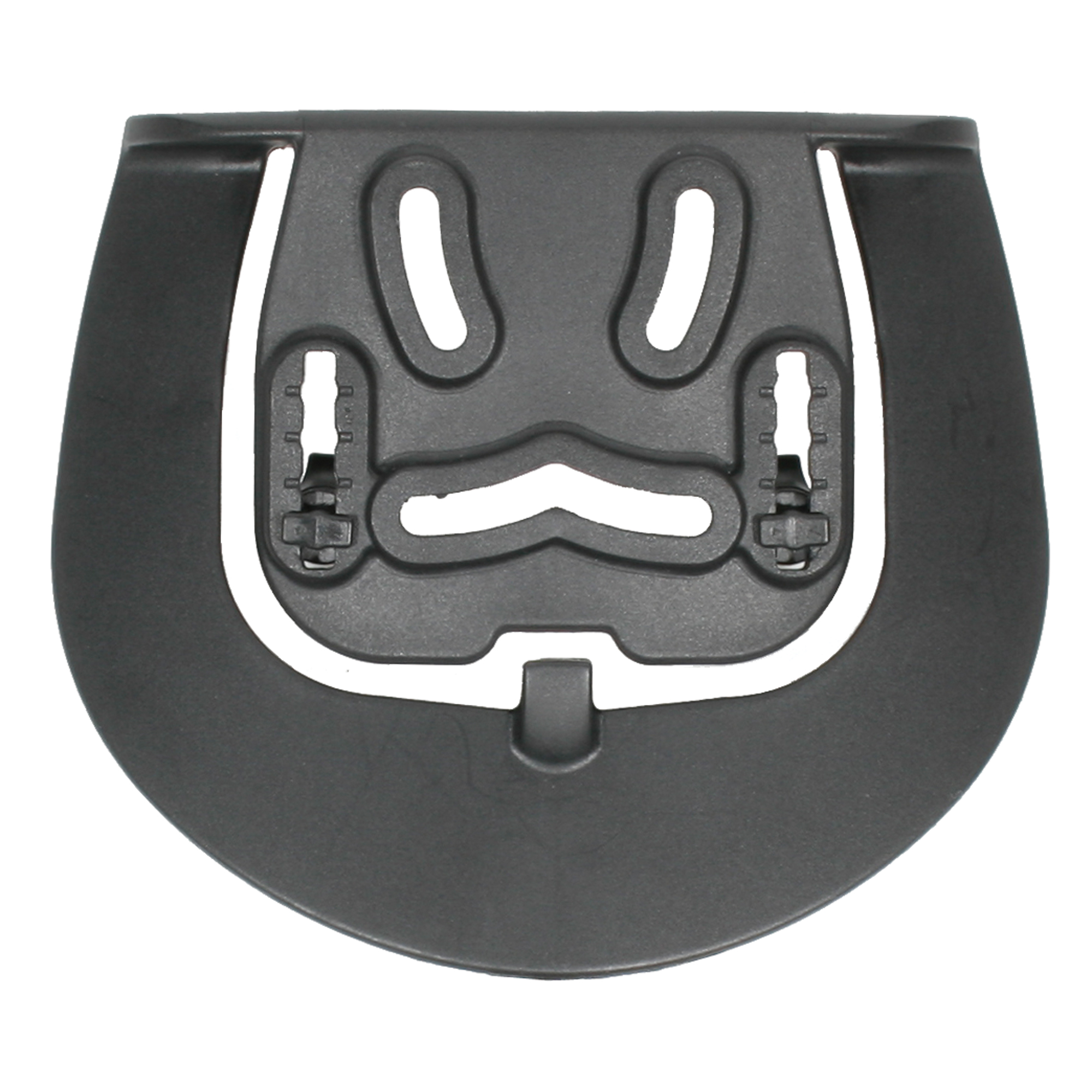 """Designed to fit any BLACKHAWK(R) injection-molded concealment holster"""" this Paddle Loop Platform comes with mounting screws."""
