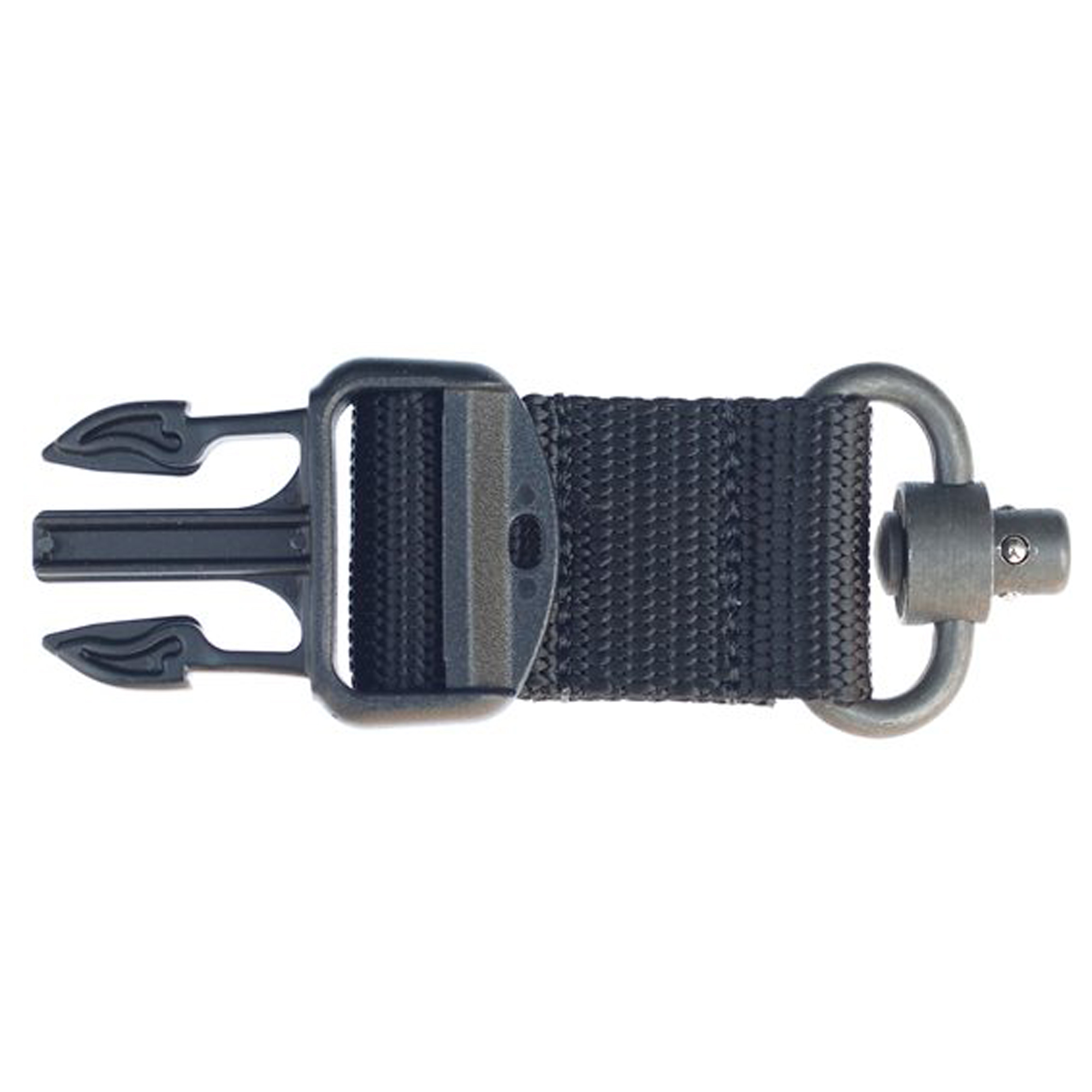 """Compatible with STORM Sling(TM) RS"""" QD"""" XT and Sub-Gun Sling"""" this quick detach features heavy-duty construction."""