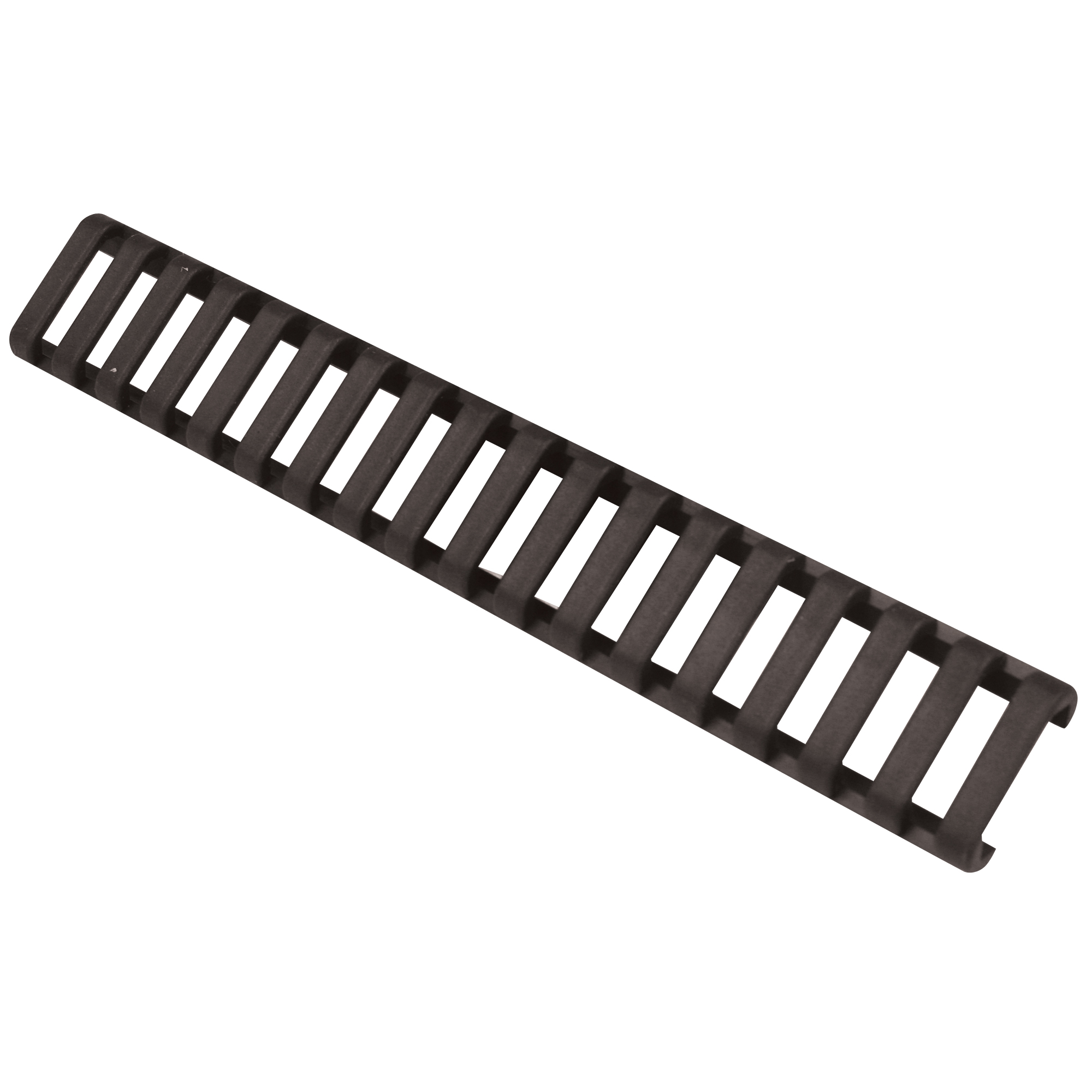 """Get complete rail protection with minimal weight with Blackhawks Low Profile Rail Cover. Constructed of lightweight Santoprene(R) with a rubbery grip surface"""" this rail cover delivers improved weapon control and effectively shields the operator from sharp rail edges."""