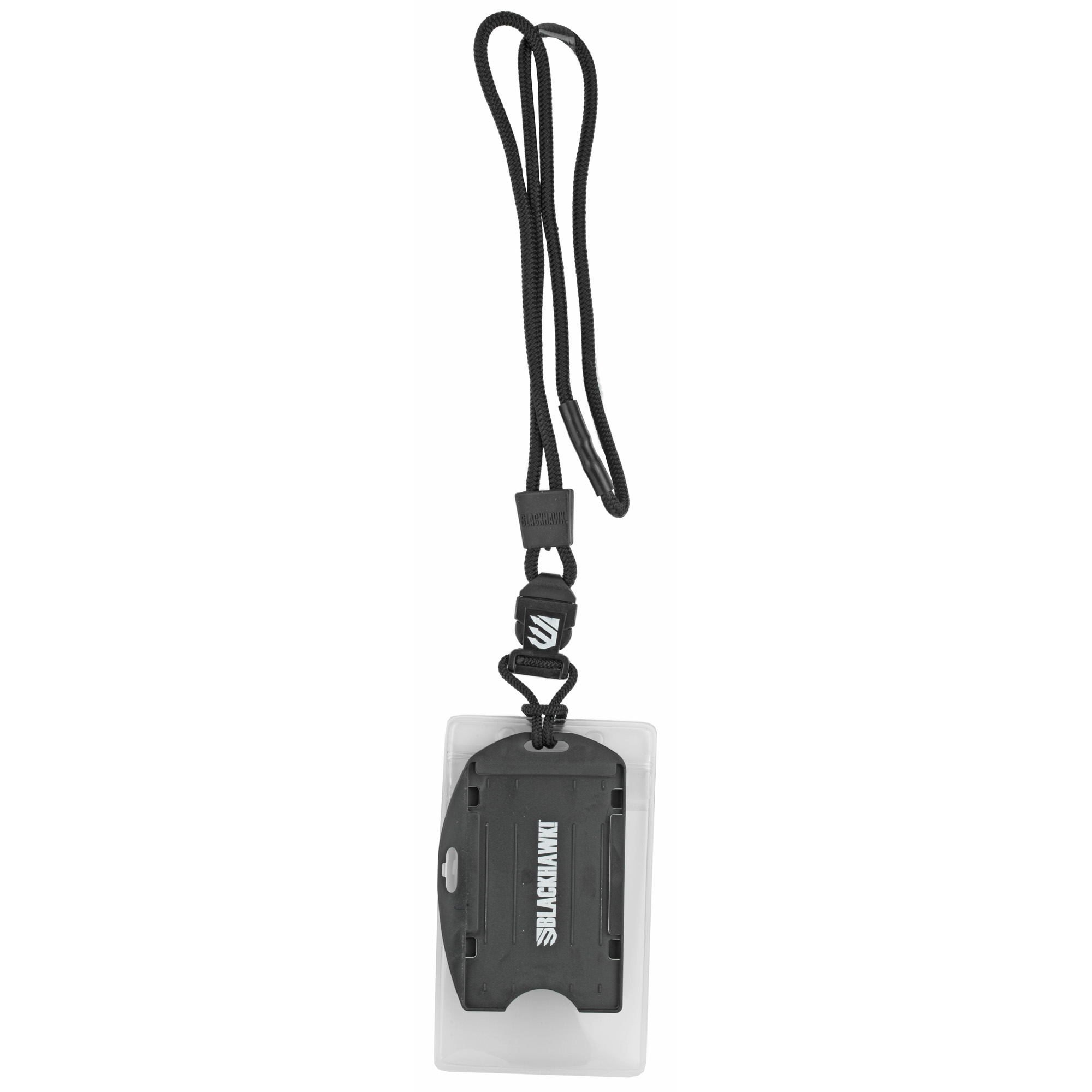 """The C.I.A. (Credentials Information Access) Lanyard is the perfect carrier for your CAC card or other electronic ID. Cards slide in quickly"""" lock into place and can be removed easily."""