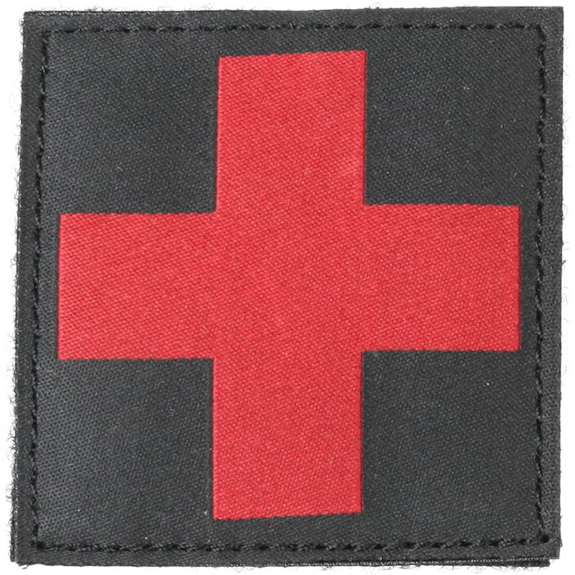 This universal Red Cross Medic ID Patch is perfect for pouches and garments. It offers hook & loop attachment with a loop panel that can be sewn onto gear and clothing.
