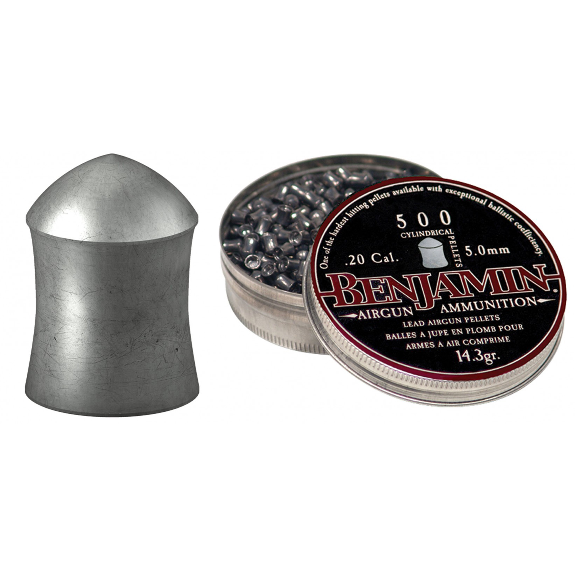 High performance hunting and plinking pellets for .20 caliber airguns.
