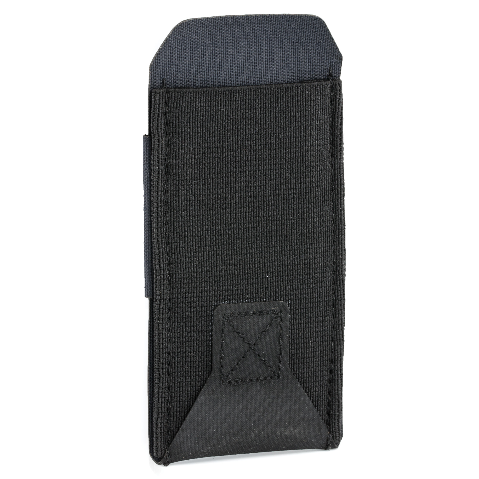 """The Belt Mounted Pistol Pouch brings combat-proven Ten-Speed multi-use pouches to a belt platform. Whether worn at home on a duty belt"""" or under clothing for concealed carry"""" the Ten-Speed(R) pouch securely holds a single pistol magazine while allowing for immediate accessibility. The single pistol mag pouch uses a hook and loop closure system to attach to belts or duty belts up to 2.0 inches in width. The Ten-Speed(R) pouch has no sharp edges or hard corners"""" making for comfortable all-day carry and allowing the pouch to lay flat when the mag is removed. The front of the pouch is constructed with military-grade elastic sewn to ULTRAcomp(TM)"""" a high performance laminate as used in MOLLEminus(TM) and Helium Whisper(R) pouches."""