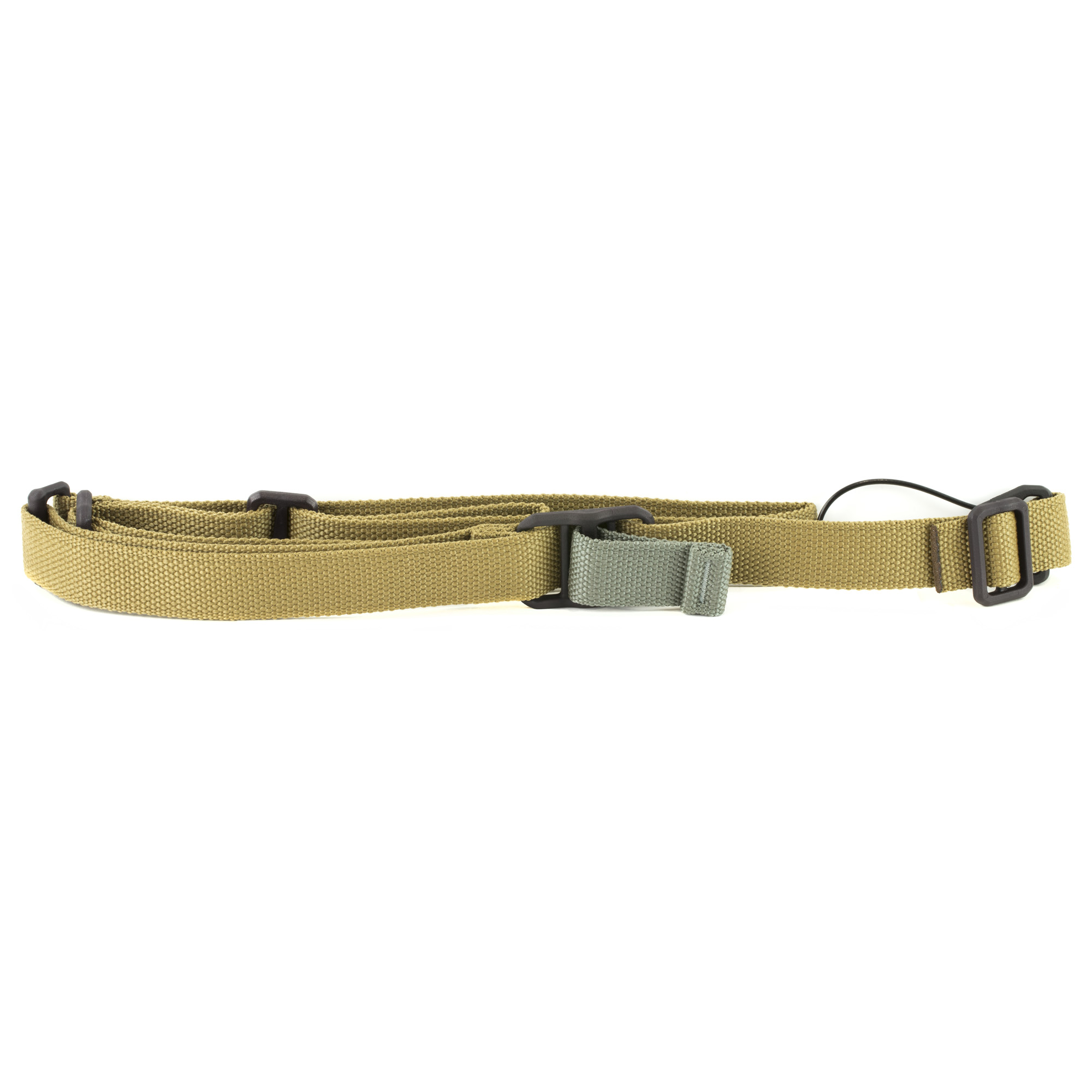 """The Standard AK Sling was designed from the ground up to be the perfect sling for the world's most prolific small arm to match the qualities of the AK - simple"""" durable"""" functional"""" and economical. If you have been long dissatisfied with the issue canvas strap or can't seem to get commercial slings to fit right"""" this sling is for you. The Standard AK sling is what you want for your AK-47"""" AK-74"""" or other AKM Style Rifles. Blue Force Gear started with the Vickers Sling(TM) platform used by good guys the world over. With over 200""""000 in use with the US military"""" the Vickers Sling with its quick adjust technology has a track record of being combat proven. Like the Vickers Sling"""" the Standard AK Sling can be instantly lengthened and shortened with no sling tail to get caught or parts to break. This allows close"""" secure weapon retention that can be carried all day"""" but instantly lengthened to be shouldered and fired without removing the weapon or untangling the sling. The Standard AK Sling comes with a Molded Universal Wire Loop(TM) threaded onto the front of the sling. Perfectly suited for the AK"""" the UWL(TM) attaches to the elongated eyelet on handguard retainer or gas block quietly and securely with nylon coated aircraft grade stainless steel cable. The UWL can also be passed through underneath the gas tube for left hand installation. The UWL is threaded on the front and can be removed for a more custom application."""