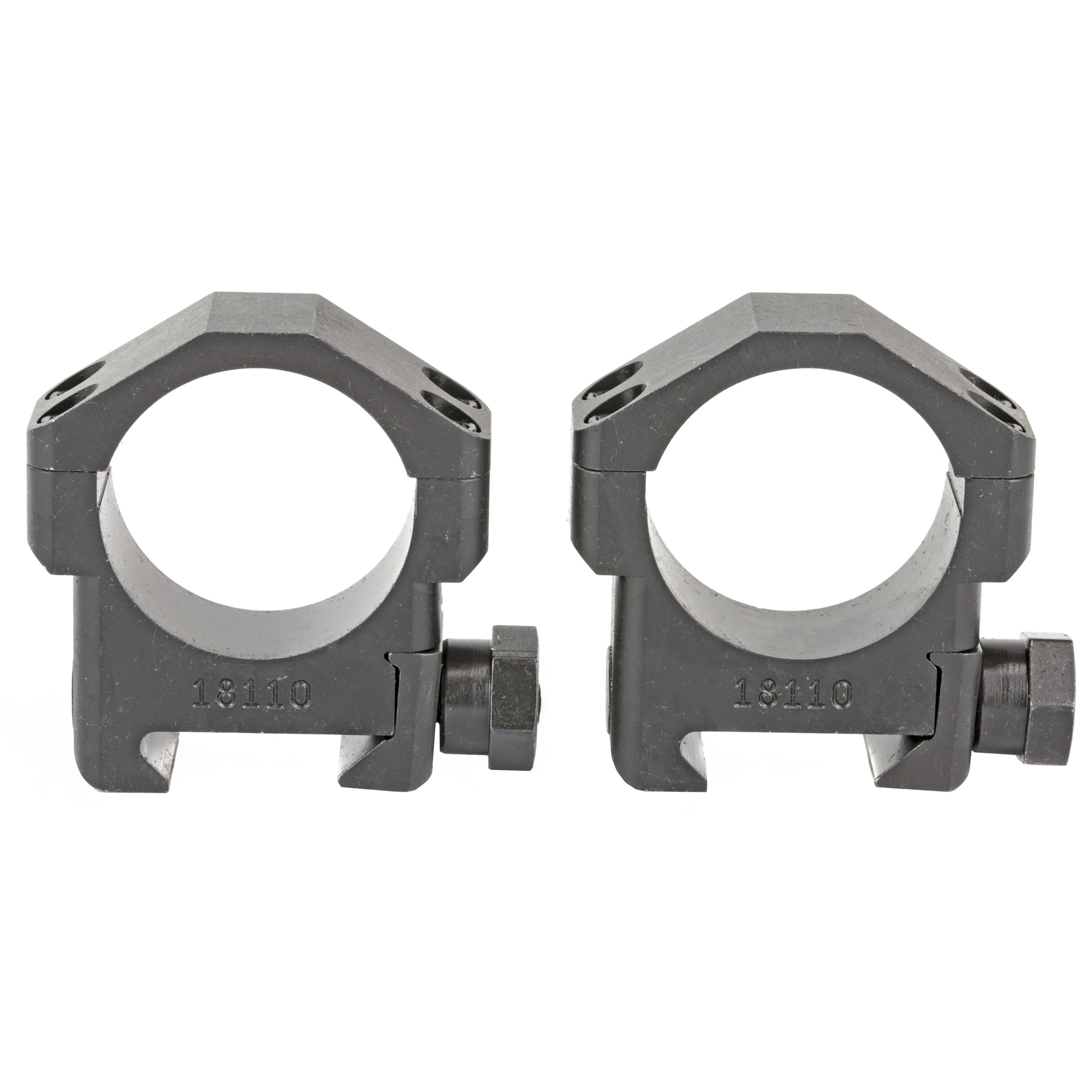 The Badger Ordnance 30mm Medium Scope Ring are optimized for use with most 30mm optics in current use and accommodate precision rifles with medium and heavy contour barrel profiles. They are machined from Ordnance Grade Steel and Black Oxide finished.