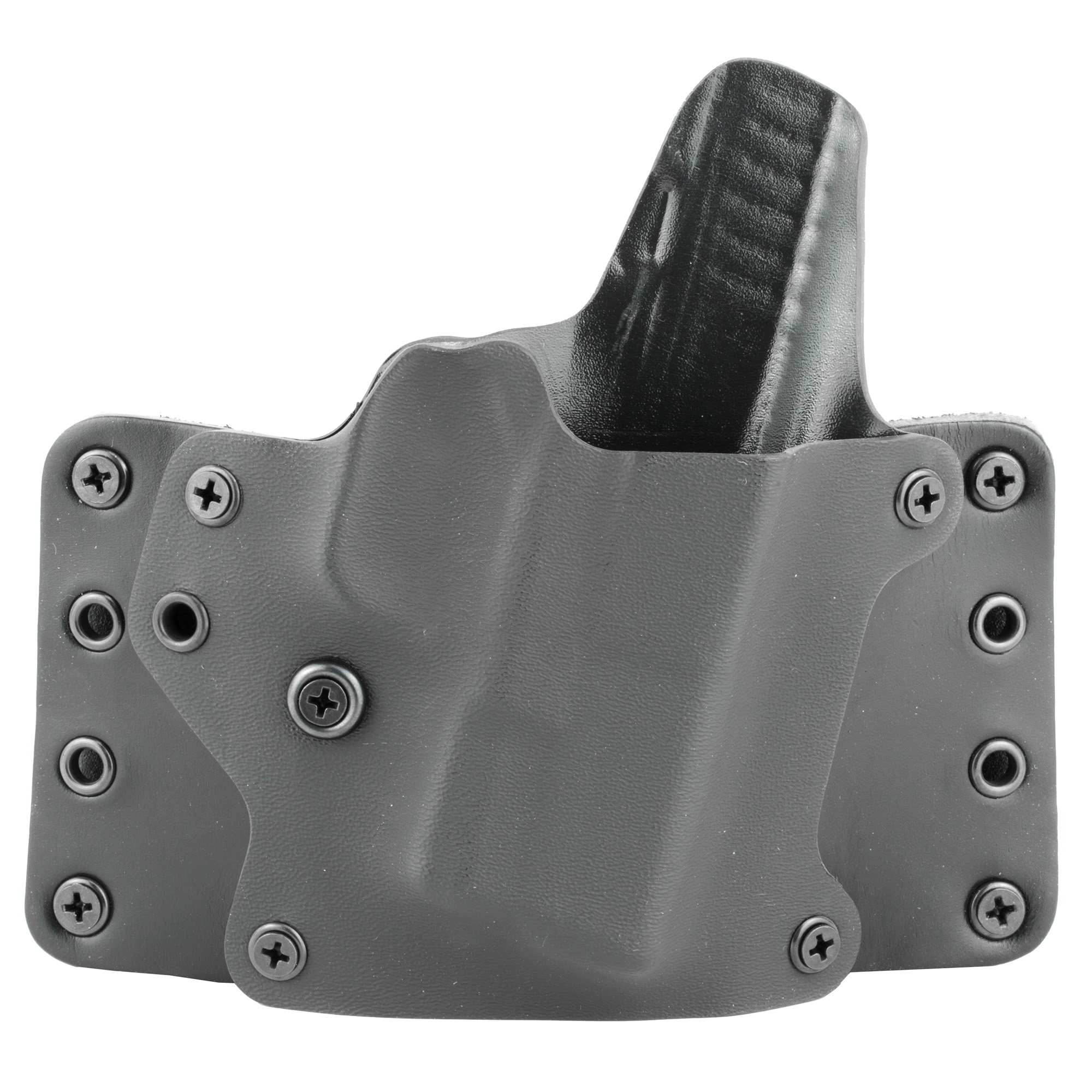 BlackPoint Tactical Springfield XDS Blackpoint Tactical Leather Wing OWB Holster 3.3″ Right Hand Leather/Kydex Belt Holster – Black