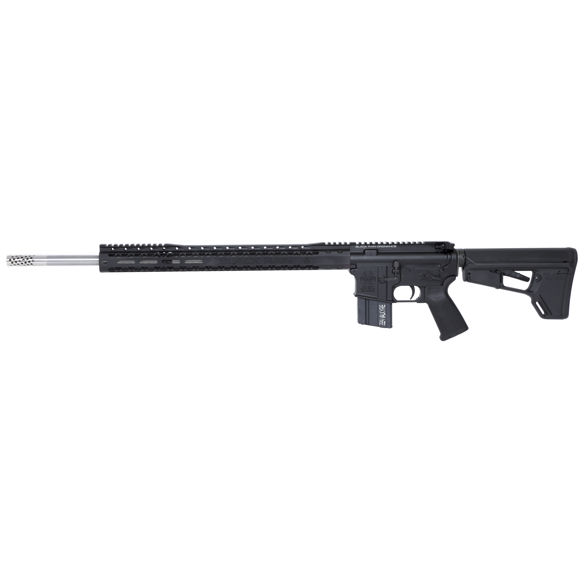 The Black Rain Ordnance Spec15 series is a line of AR15 rifles and pistols built to meet bid requirements for law enforcement and military personnel and as an affordable option for civilian use.