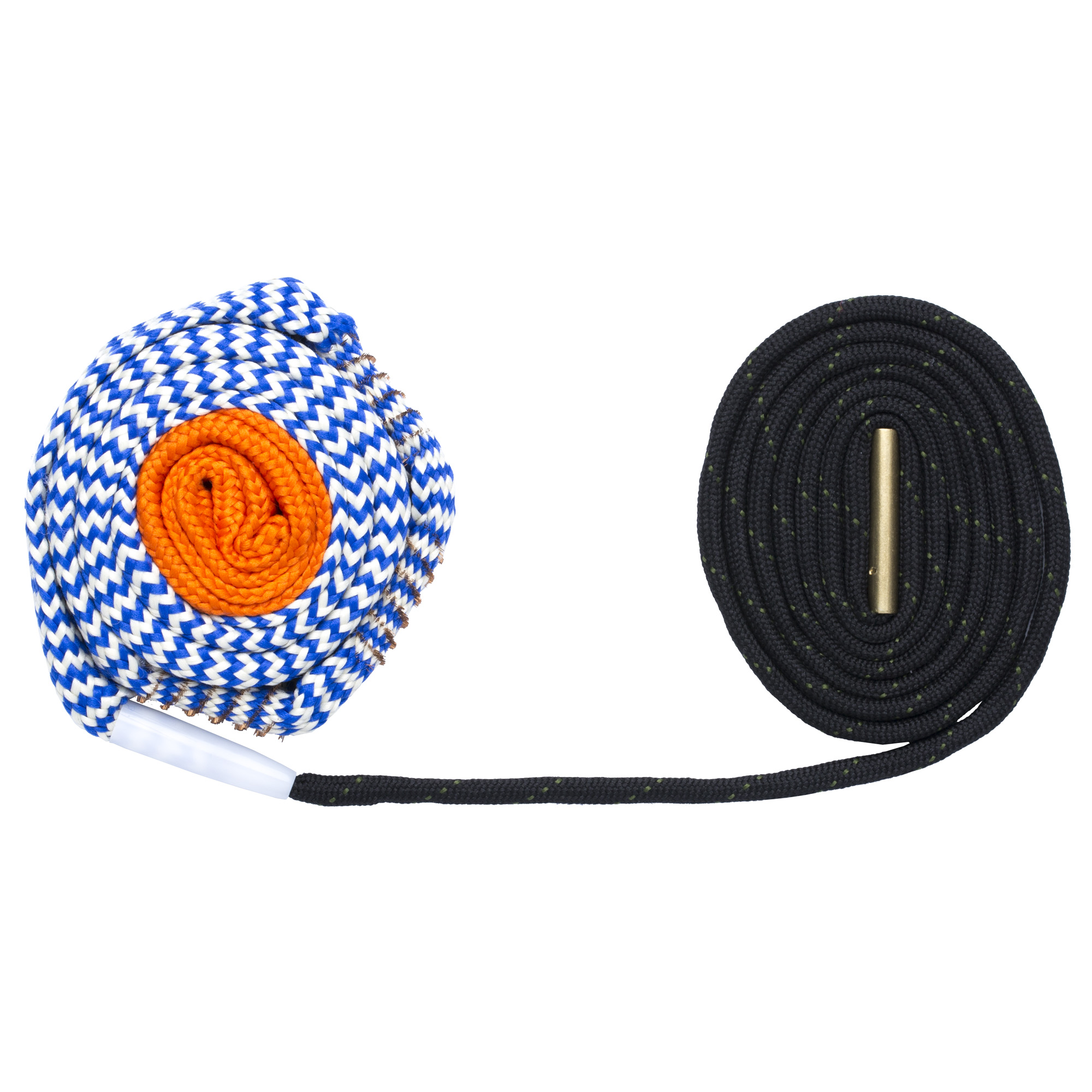 "Everything you love about the BoreSnake plus better cleaning and superior strength. One pass loosens large particles"" scrubs out the remaining residue with a bronze brush"" then swabs it all spotless with a cleaning area 160x larger than a standard patch."