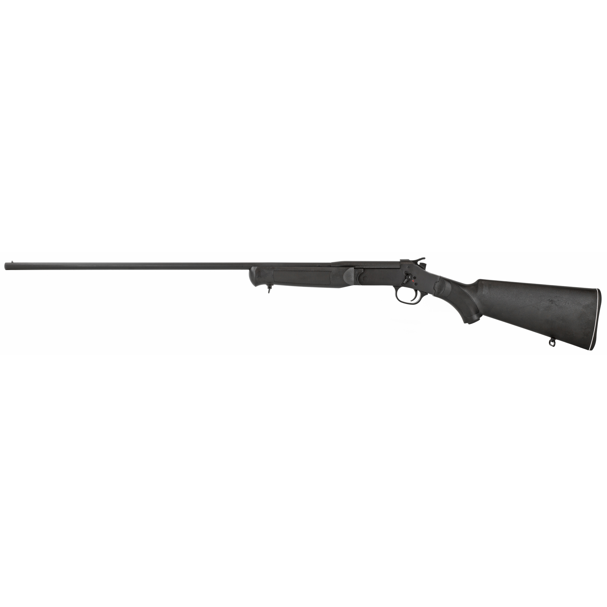 """Rossi shotguns feature a timeless single-shot"""" break-open breech design updated with the most modern safety features imaginable. Each includes a spur hammer"""" transfer bar safety action and an integral linkage system that prevents the action from opening or closing when the hammer is cocked. Whether you're a beginner or just looking for dependable"""" straightforward long gun"""" Rossi won't disappoint."""