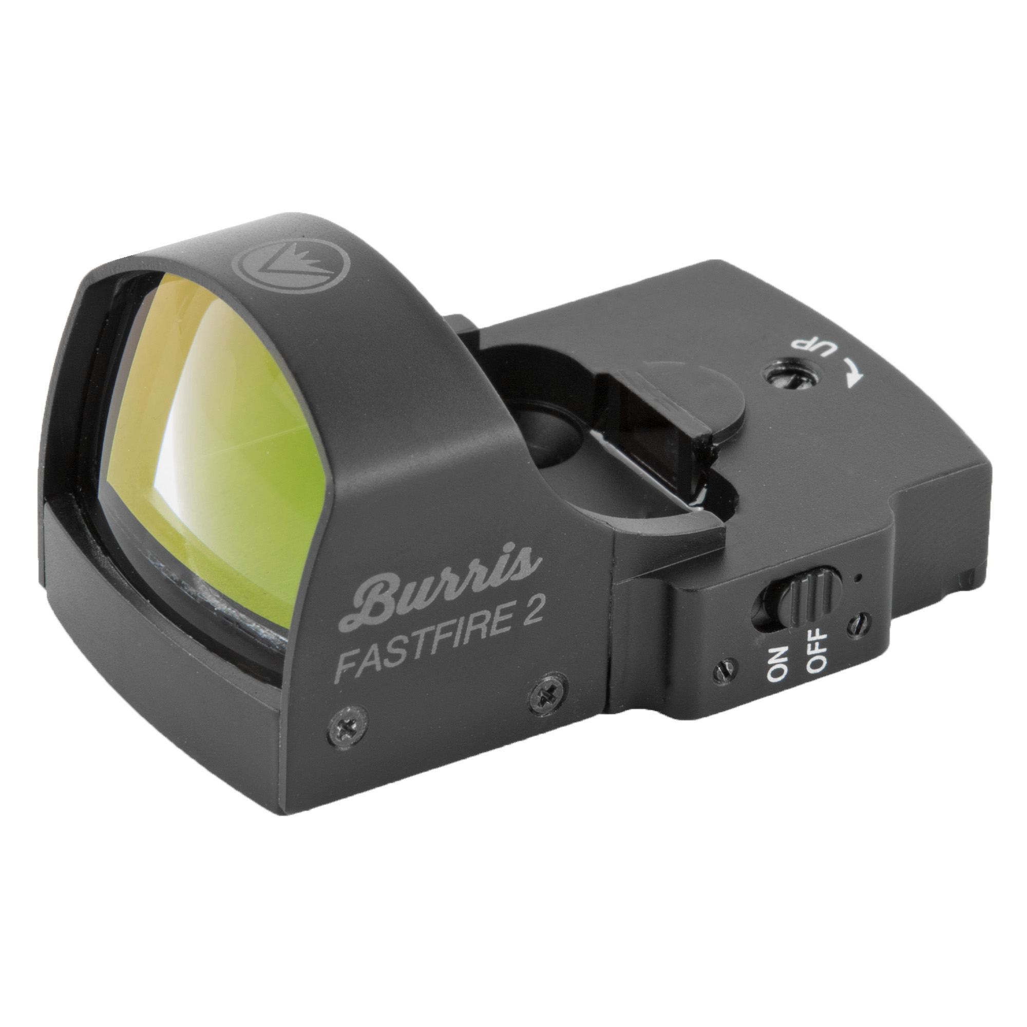 "The FastFire 2 provides a 4-MOA red dot. Its automatic brightness sensor adjusts to your environment"" so you can keep slamming targets."