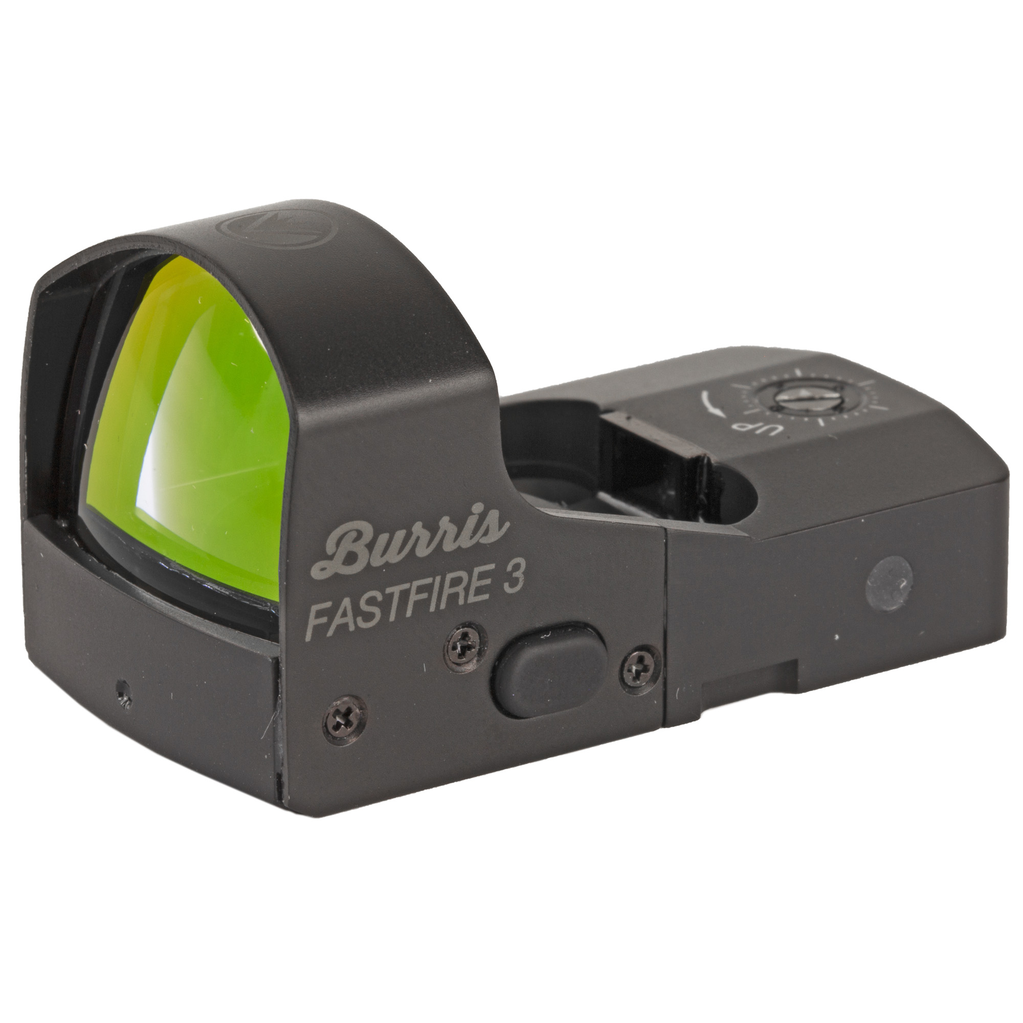 "The FastFire 3 is the bestselling red dot sight from Burris. It is available with an 8 MOA dot. Light and tough"" the FastFire 3 series puts an unmistakable"" bright red dot on your target to give you an immediate speed and accuracy advantage. Can be used as a primary sight or paired on top of an existing sight."