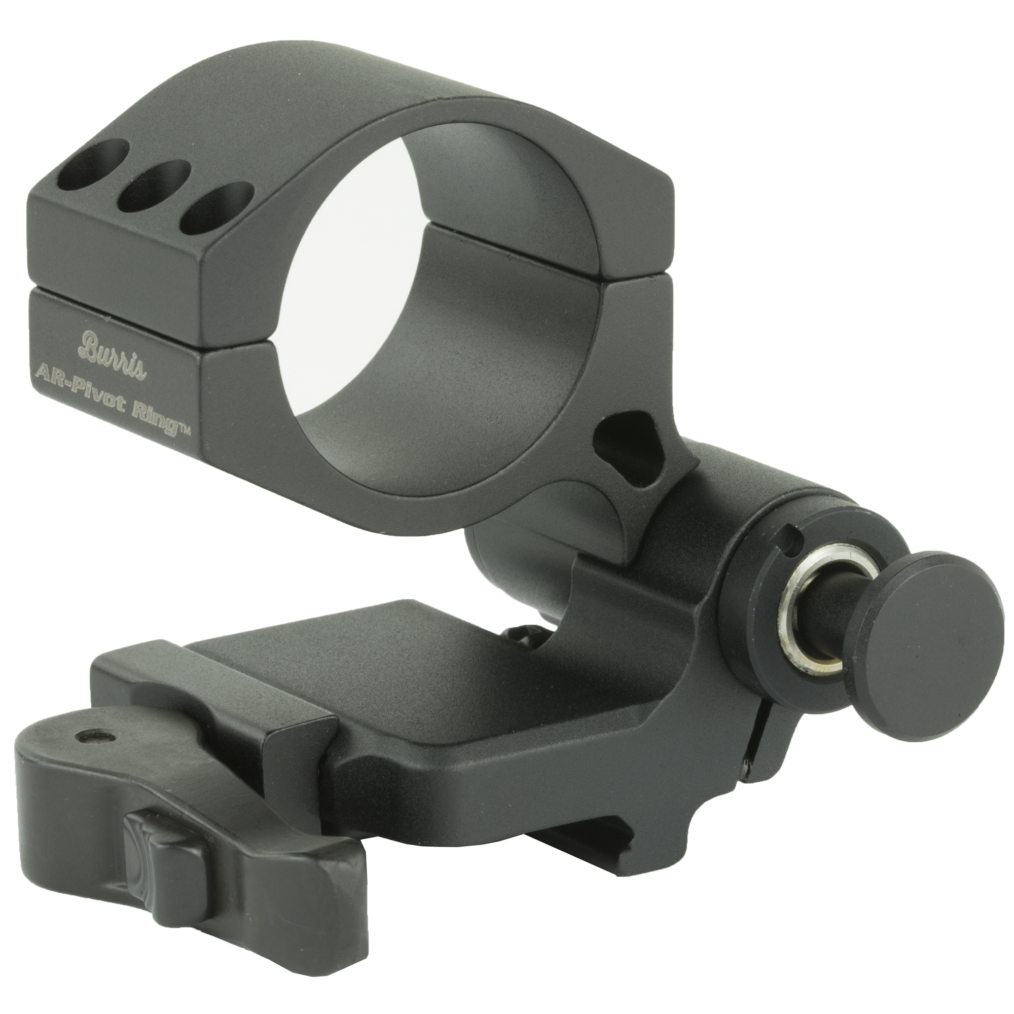 "Quickly and easily mount the AR-Tripler inline behind non-magnified optics. For close quarter shooting"" flip it to the side with the push of a button. To engage targets at longer distances"" flip the AR-Tripler to its upright position and it automatically locks into place."