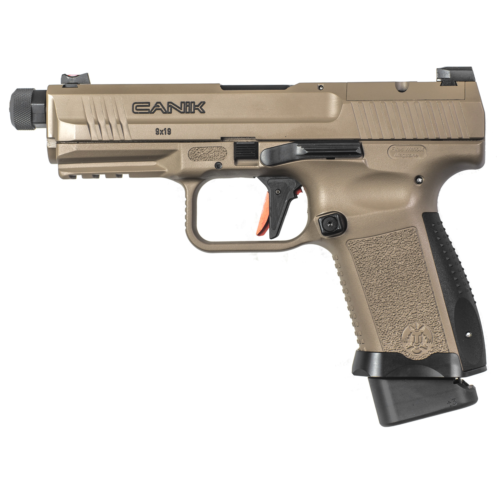 The TP9 Elite Combat represents a whole new generation of Canik handguns. Every TP9EC comes standard with performance upgrades designed by Salient Arms International.