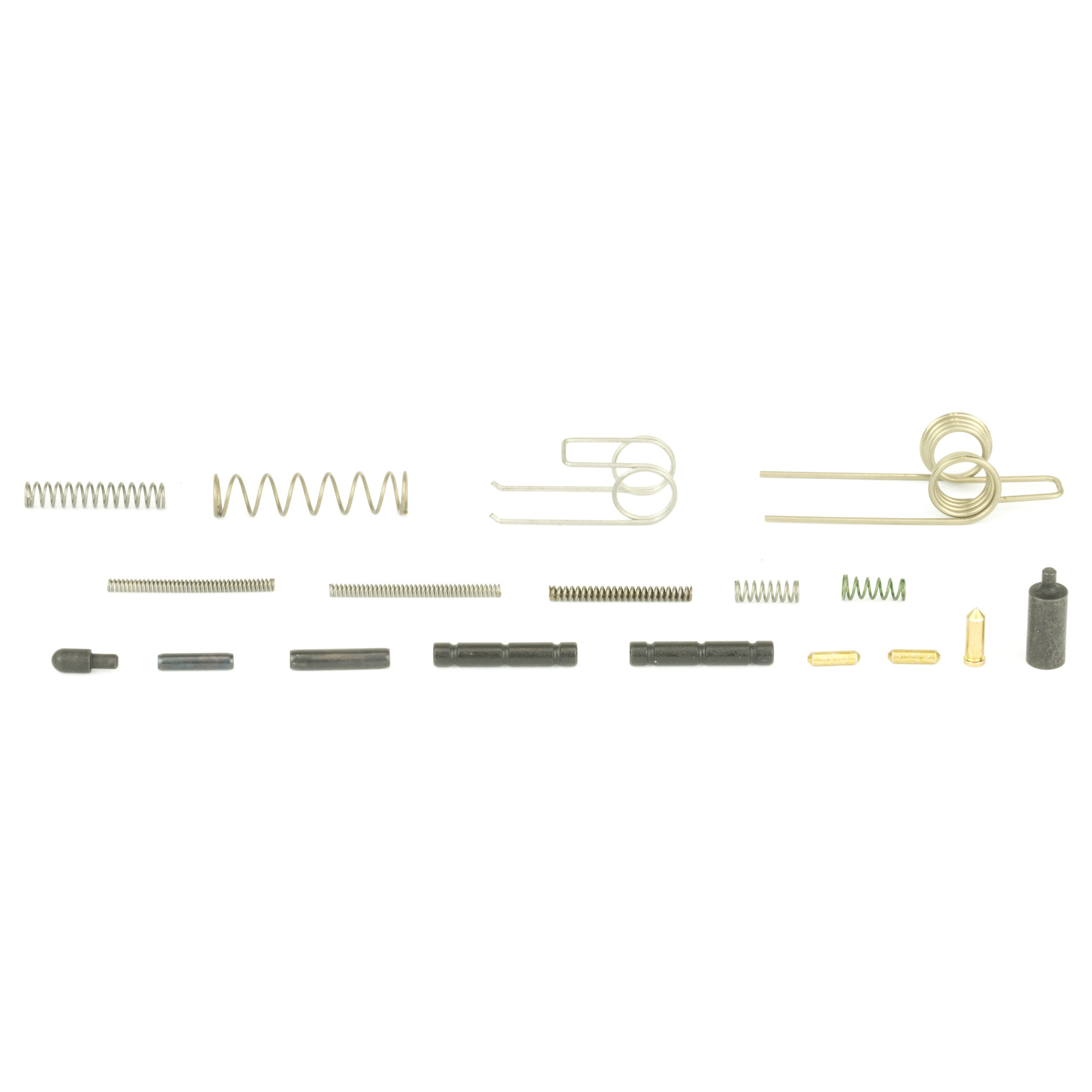 This kit includes replacement detents and springs for the AR-15 that are most commonly damaged or lost.