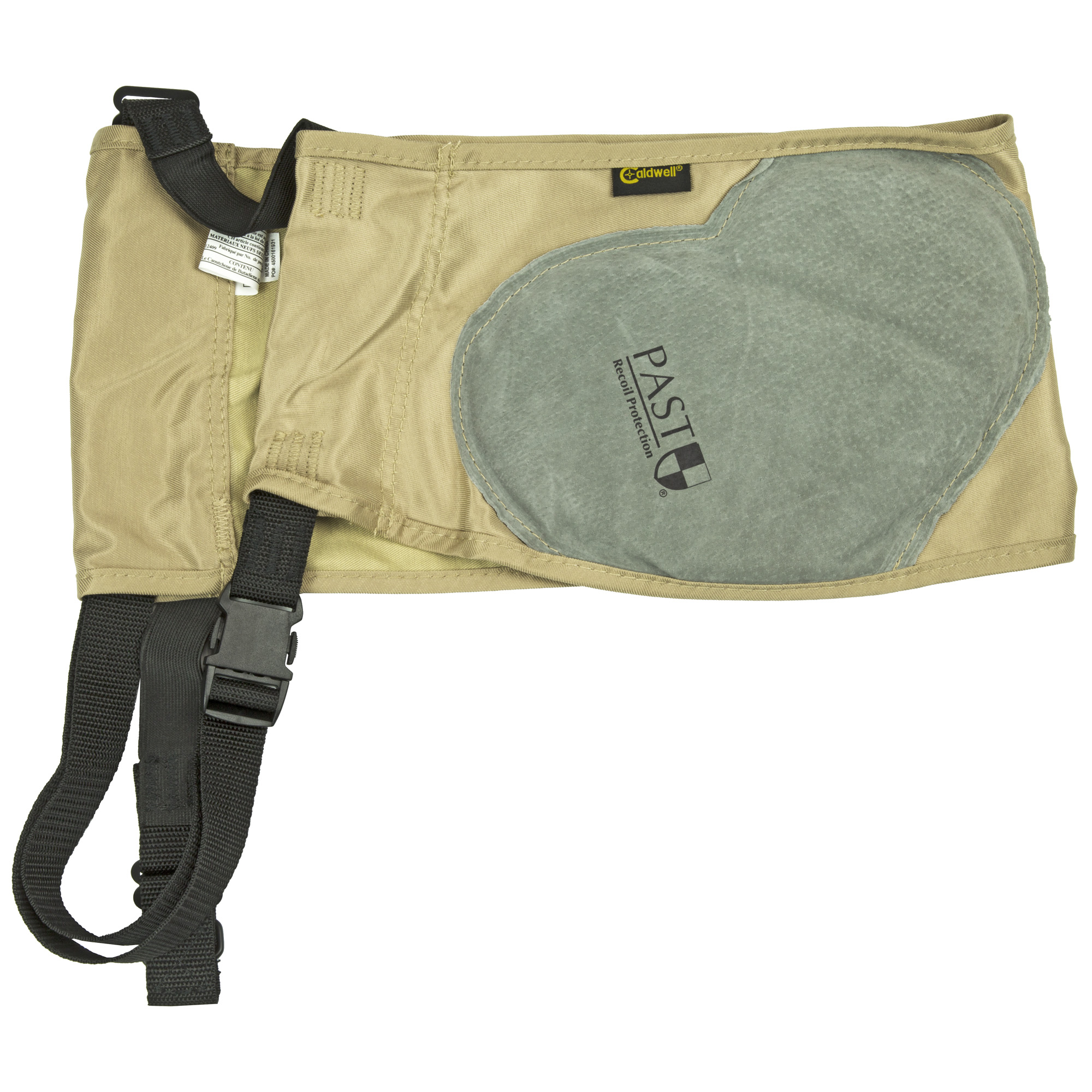 """Caldwell's Magnum Plus Recoil Protection Ambidextrous Recoil Pad is designed to provide the same unparalleled recoil protection as the original Mag Shield but features a larger surface area. The heart-shaped design expands the recoil absorption area"""" extending protection to the upper arm. This quality is especially valuable in those cases when the rifle or shotgun is not shouldered perfectly. The size and shape of the Mag Plus Shield creates the perfect combination of function and comfort. This time-tested design has become a favorite for shooters around the world. The shield's thick energy-absorbing pad provides excellent protection for calibers ups to 300 Winchester Magnum."""