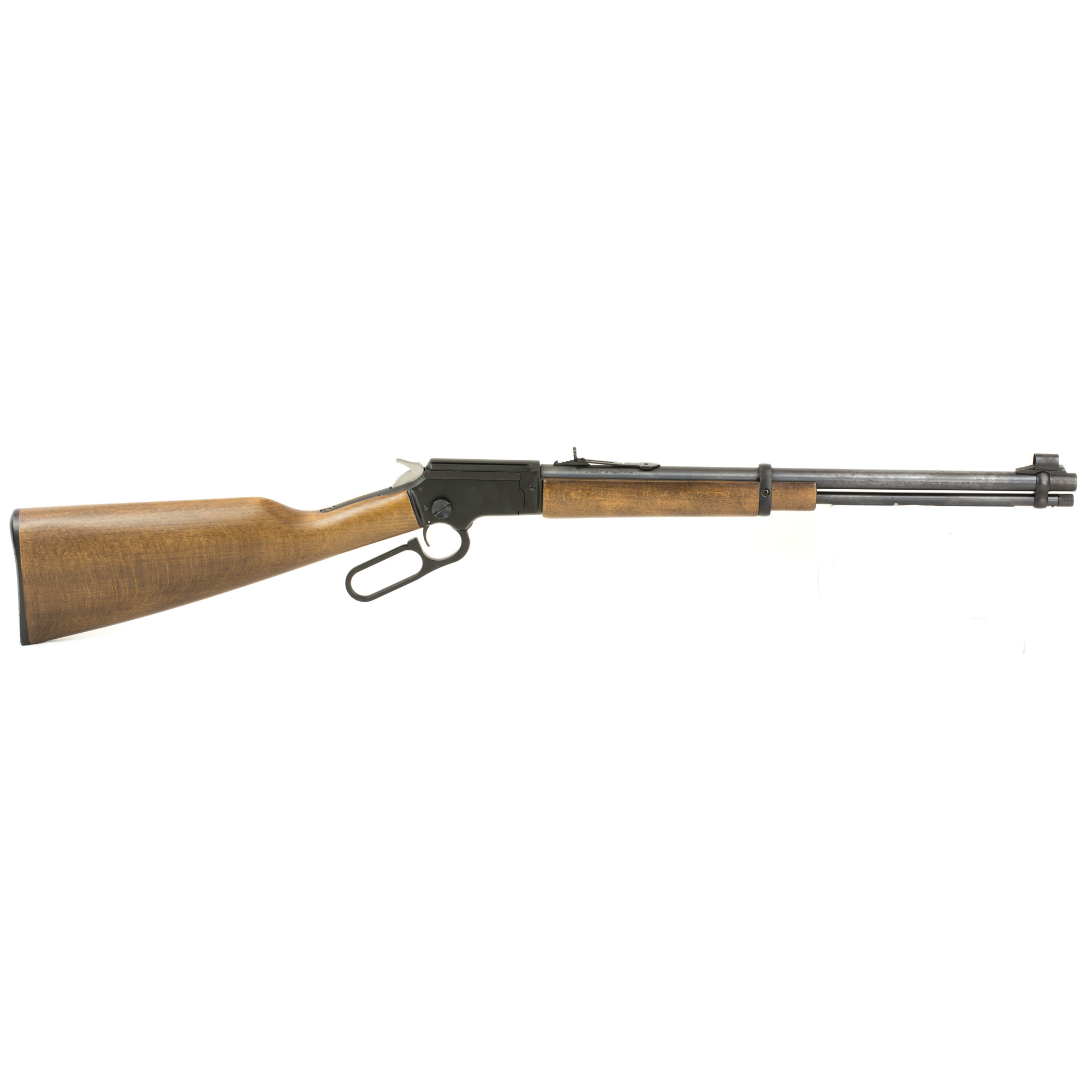 "The lever action .22lr is an American classic. Chiappa continues this legacy by using modern technology and materials to produce the LA322. This beautiful rimfire is as attractive as it is functional. Accurate"" quick handling and rapid shooting"" the LA322 embodies all the qualities that Americans want in a lever action rifle. A 3/8"" dovetail is machined into the top of the receiver so optics are easily added for small game hunting or plinking. Another coveted feature is the take down design letting the shooter easily and quickly separate the buttstock from the action for easy transport and storage."