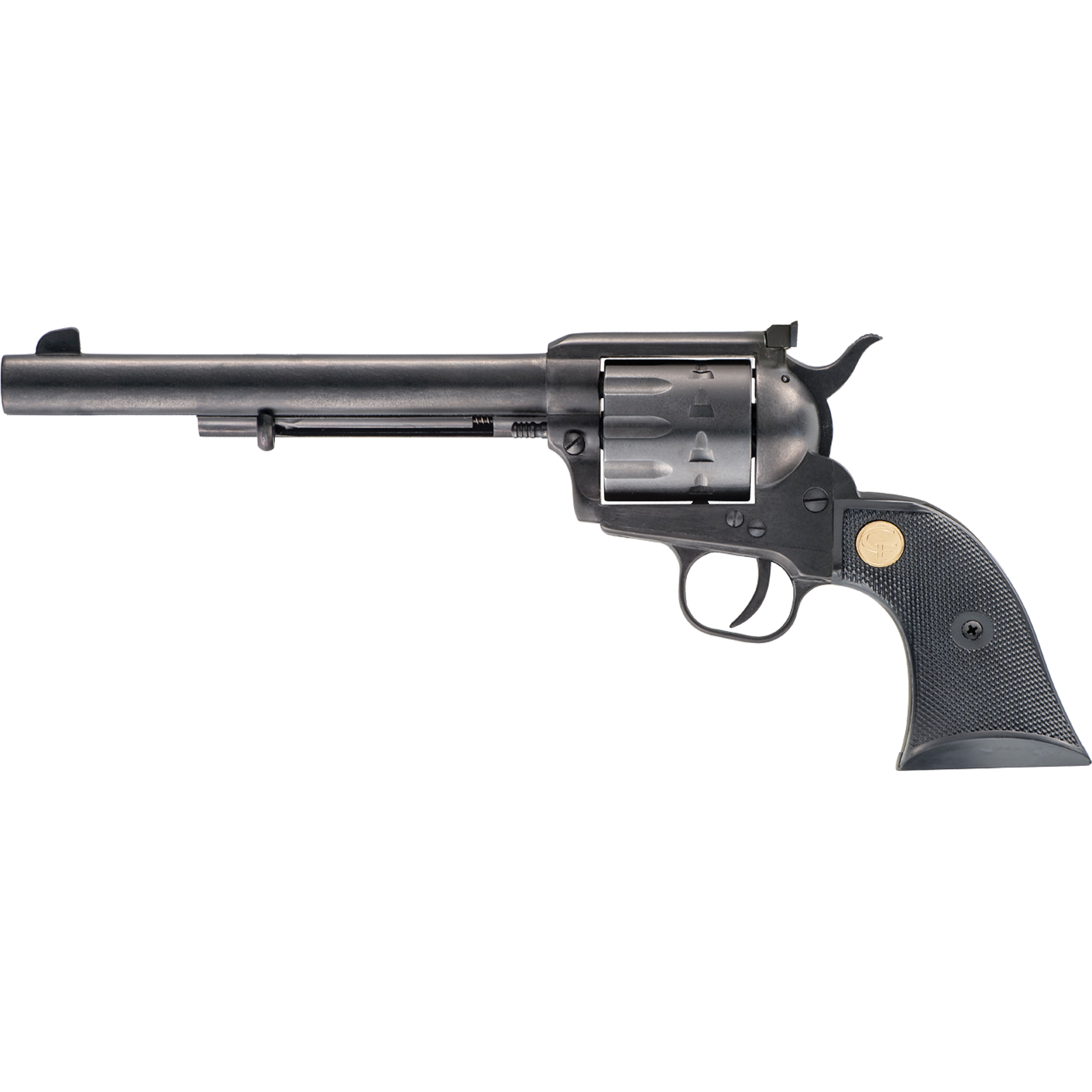 "The single action 1873 is a timeless handgun and a symbol of the American West. The Chiappa SAA 1873 series captures the spirit and allure of these fine revolvers. Chambered in easy to shoot"" readily accessible rimfire cartridges the SAA 1873 is an excellent single action revolver."