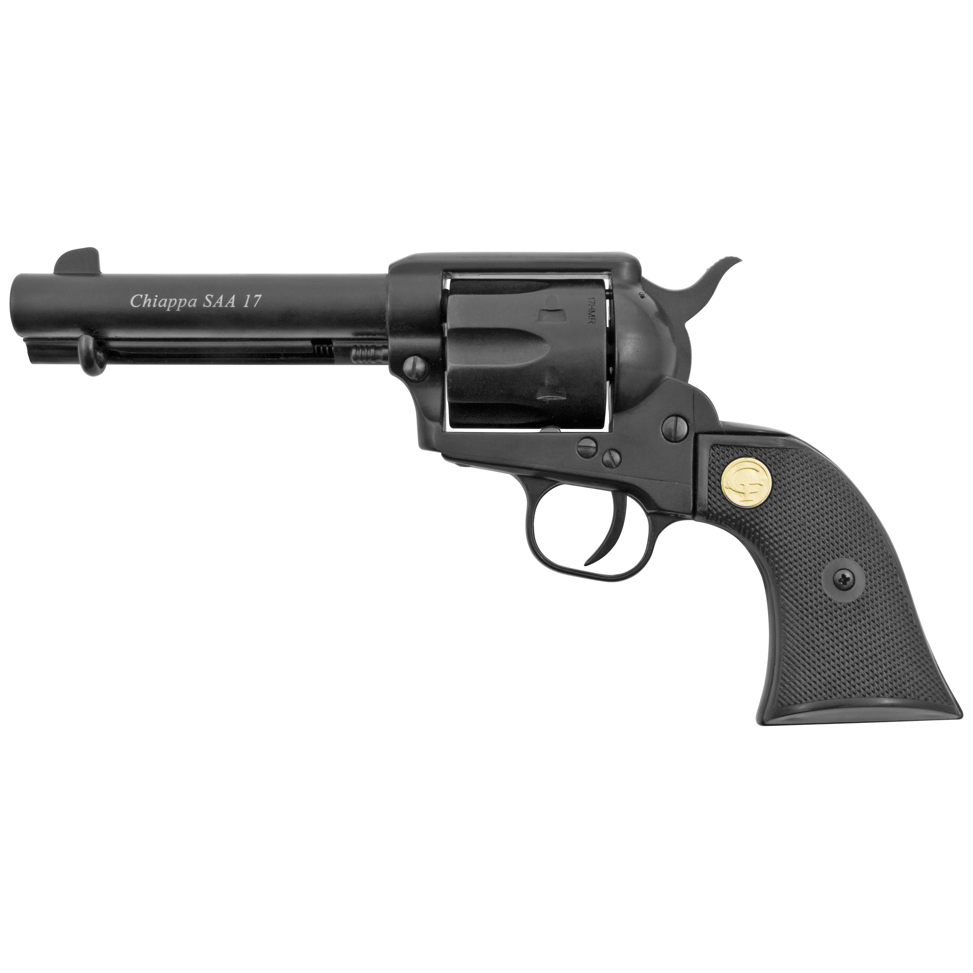 "The single action 1873 is a timeless handgun and a symbol of the American West. The Chiappa SAA 1873 series captures the spirit and allure of these fine revolvers. Chambered in easy to shoot"" readily accessible rimfire cartridges the SAA 1873 is an excellent single action revolver"